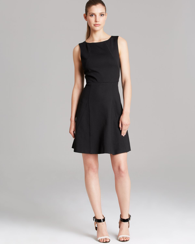 Trina turk Dress Delphine in Black - Lyst