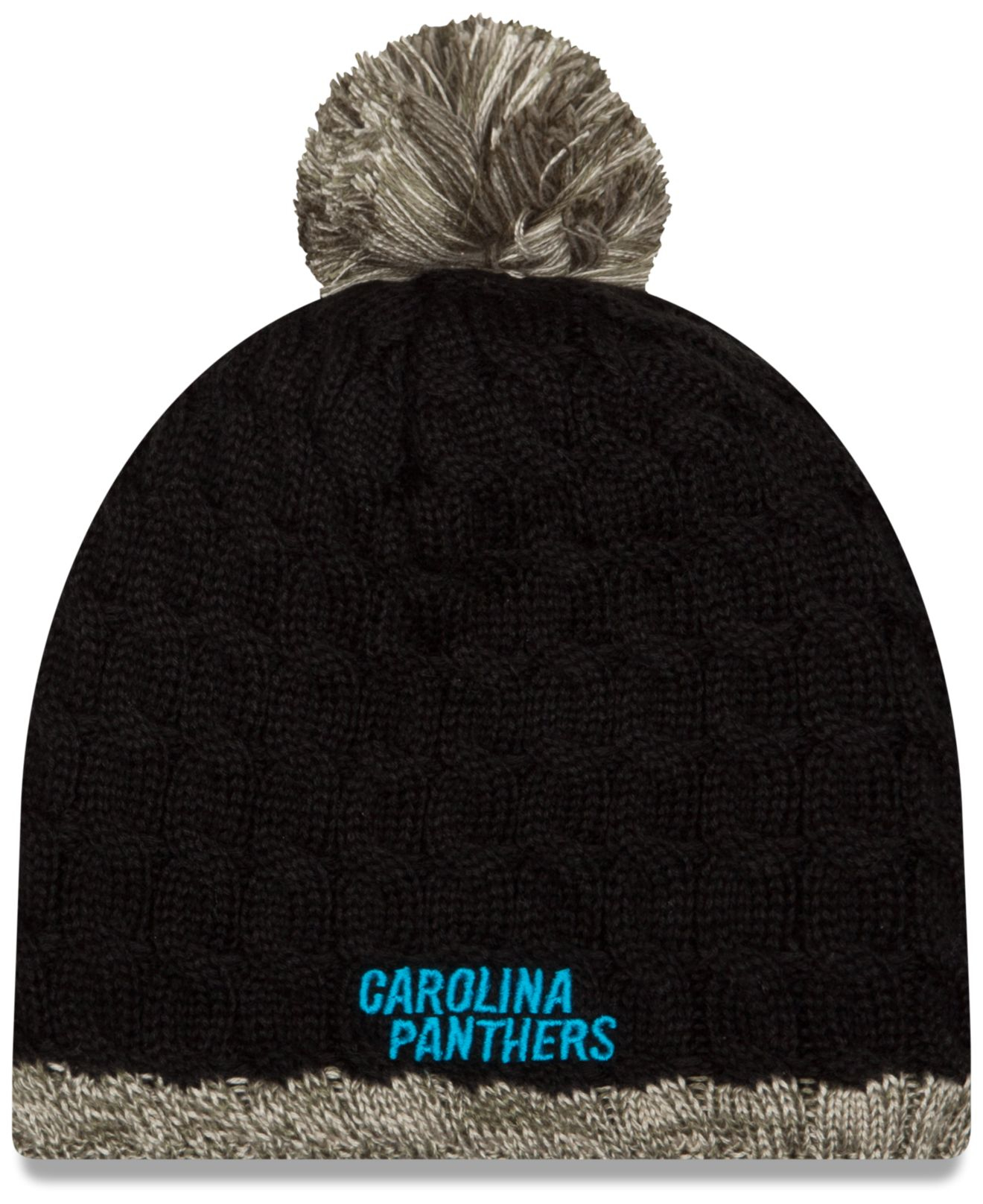 d1d6fe871e8 ... new era 4e4d3 3c339  coupon code for lyst ktz womens carolina panthers  salute to service knit hat in a50b8 89671