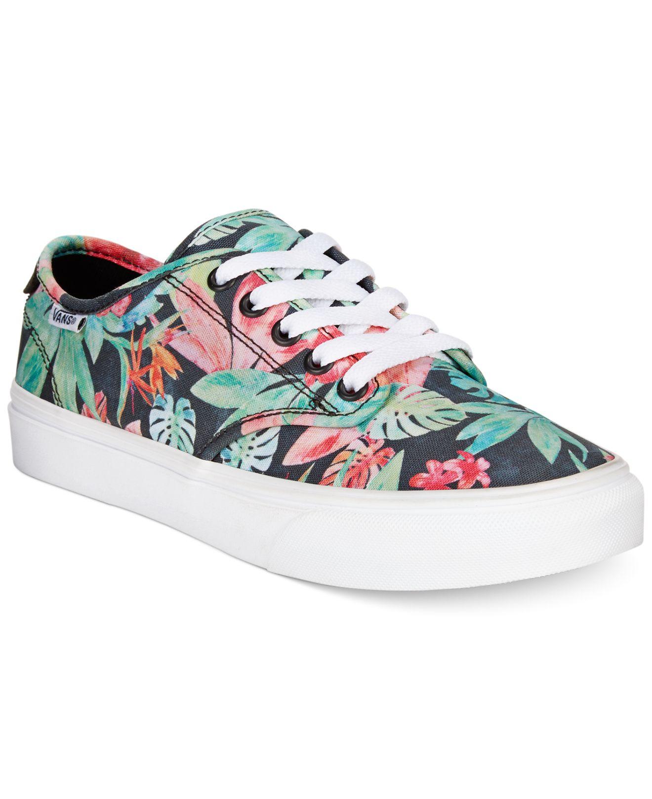 700d89551f Lyst - Vans Women s Camden Lace-up Sneakers
