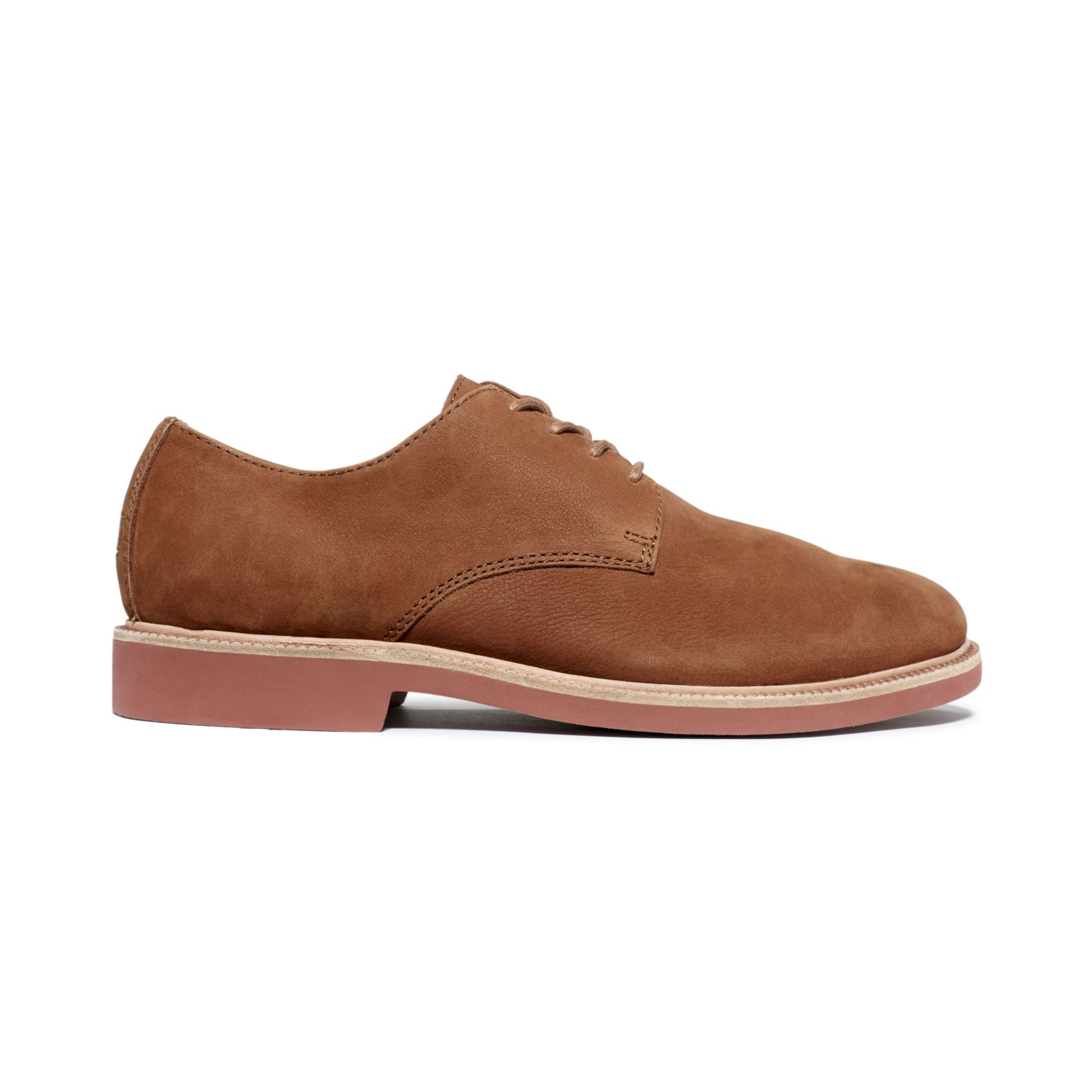 polo ralph torrington dress shoes in brown for