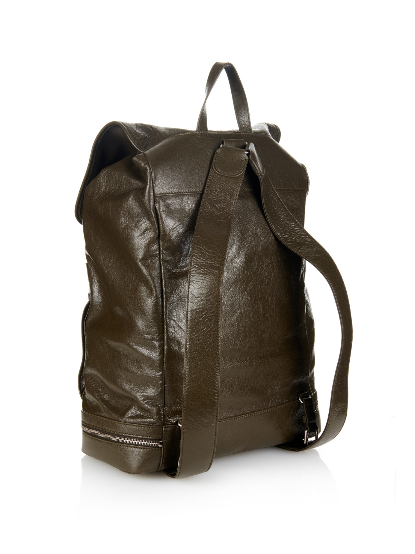 99a1b78fc613 Lyst - Balenciaga Arena Traveller Backpack in Natural for Men