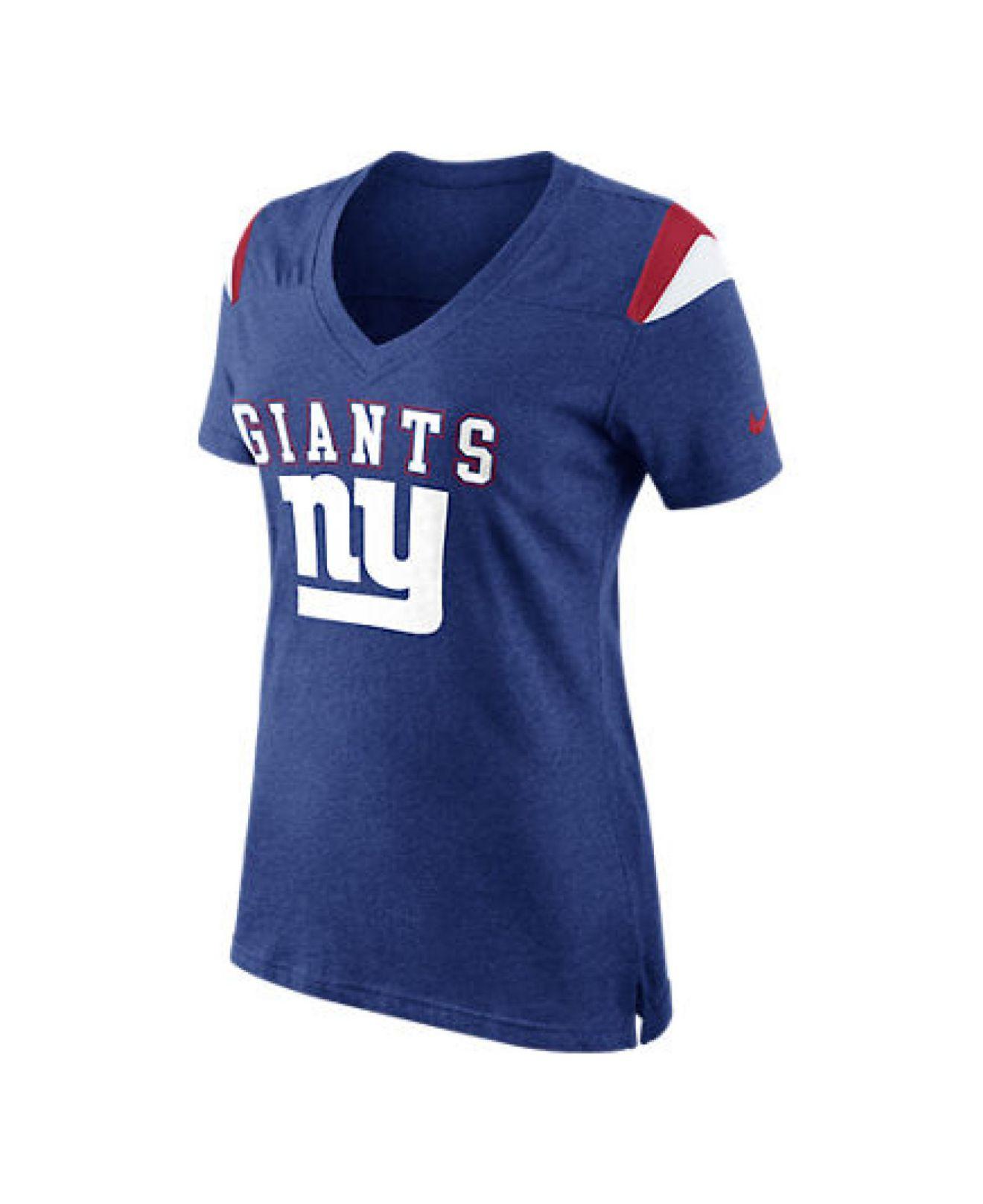Lyst Nike Women 39 S Short Sleeve New York Giants T Shirt