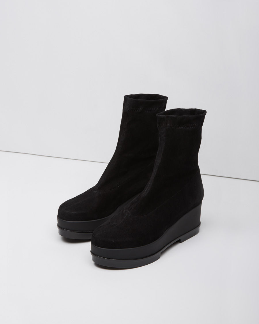 5fbcc4fca0be Lyst - Robert Clergerie You Wedge Boots in Black