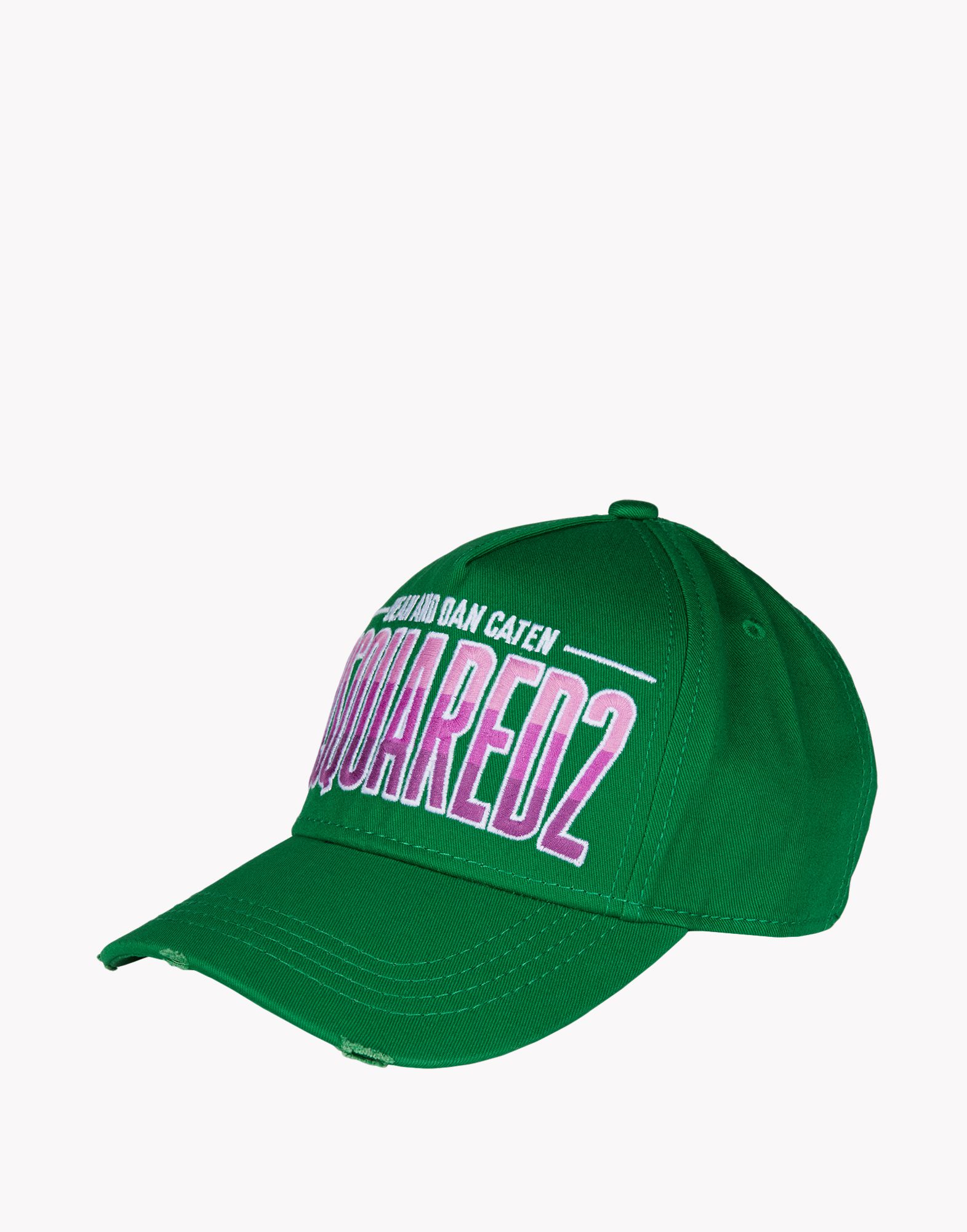 dsquared 178 baseball cap in green for lyst