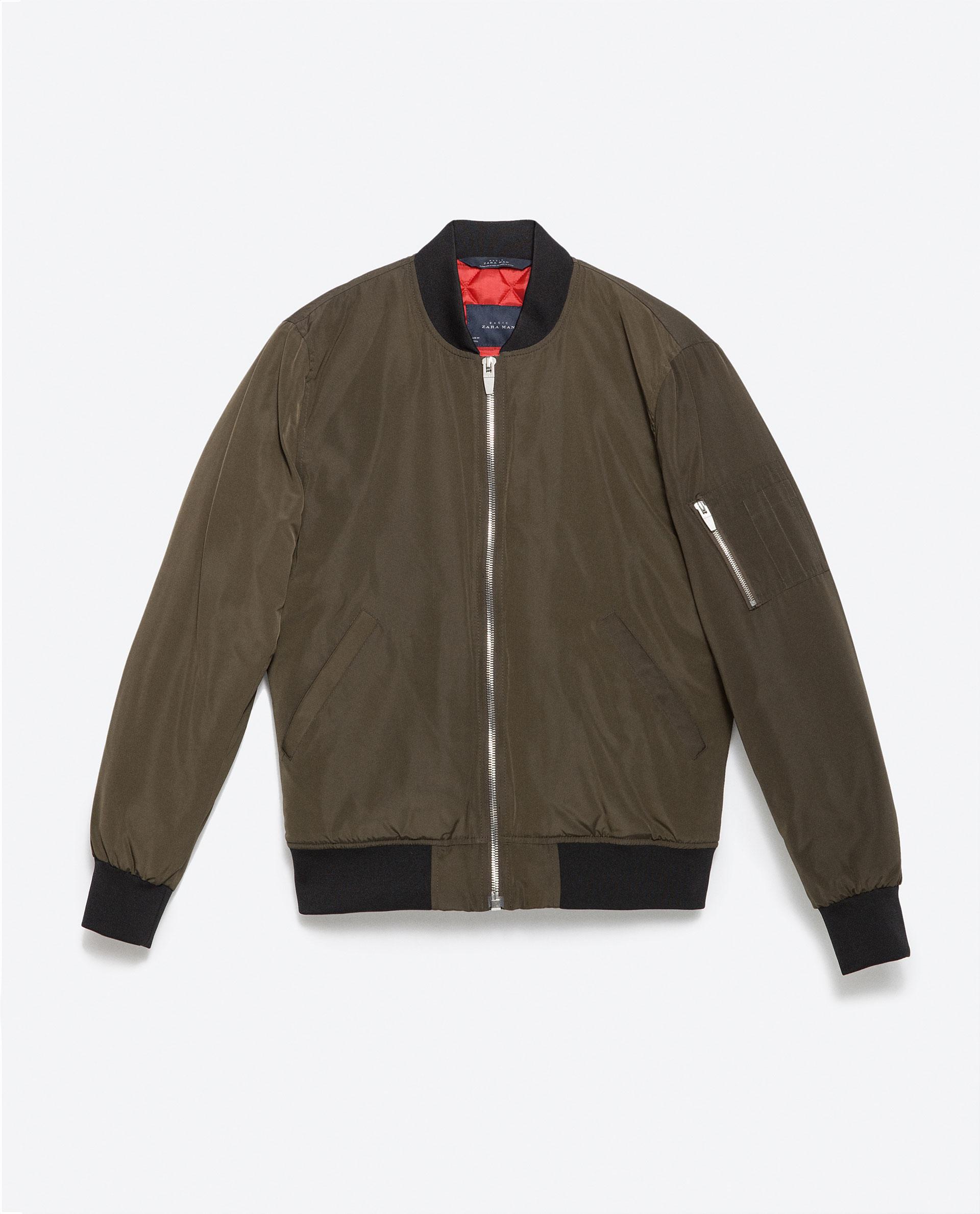 Aviator Jacket Zara Man Cinemas 93
