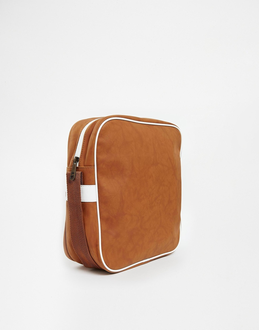 Lyst - adidas Gazelle Messenger Bag in Brown for Men f53e0461c562b