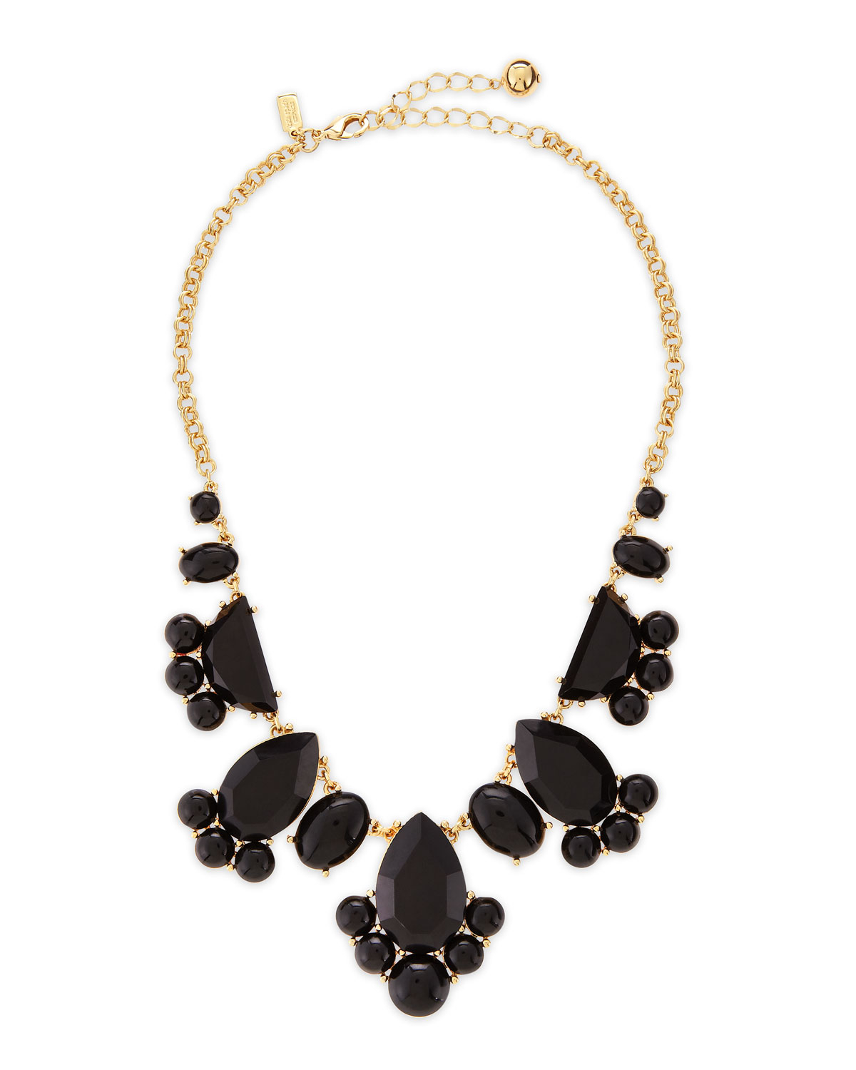 Kate spade Day Tripper Necklace Black in Black | Lyst