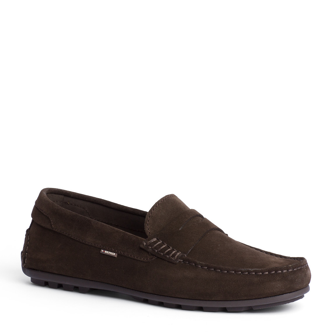 ef83ad76456ca Tommy Hilfiger Alonzo Loafer in Brown for Men - Lyst