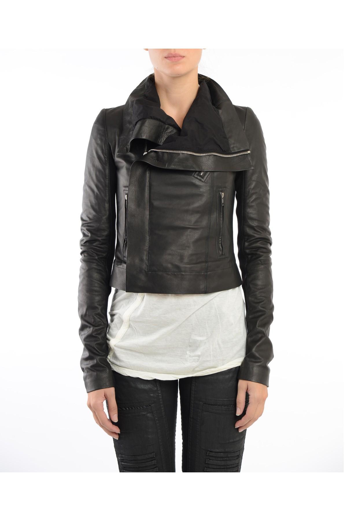 Soft black leather jacket