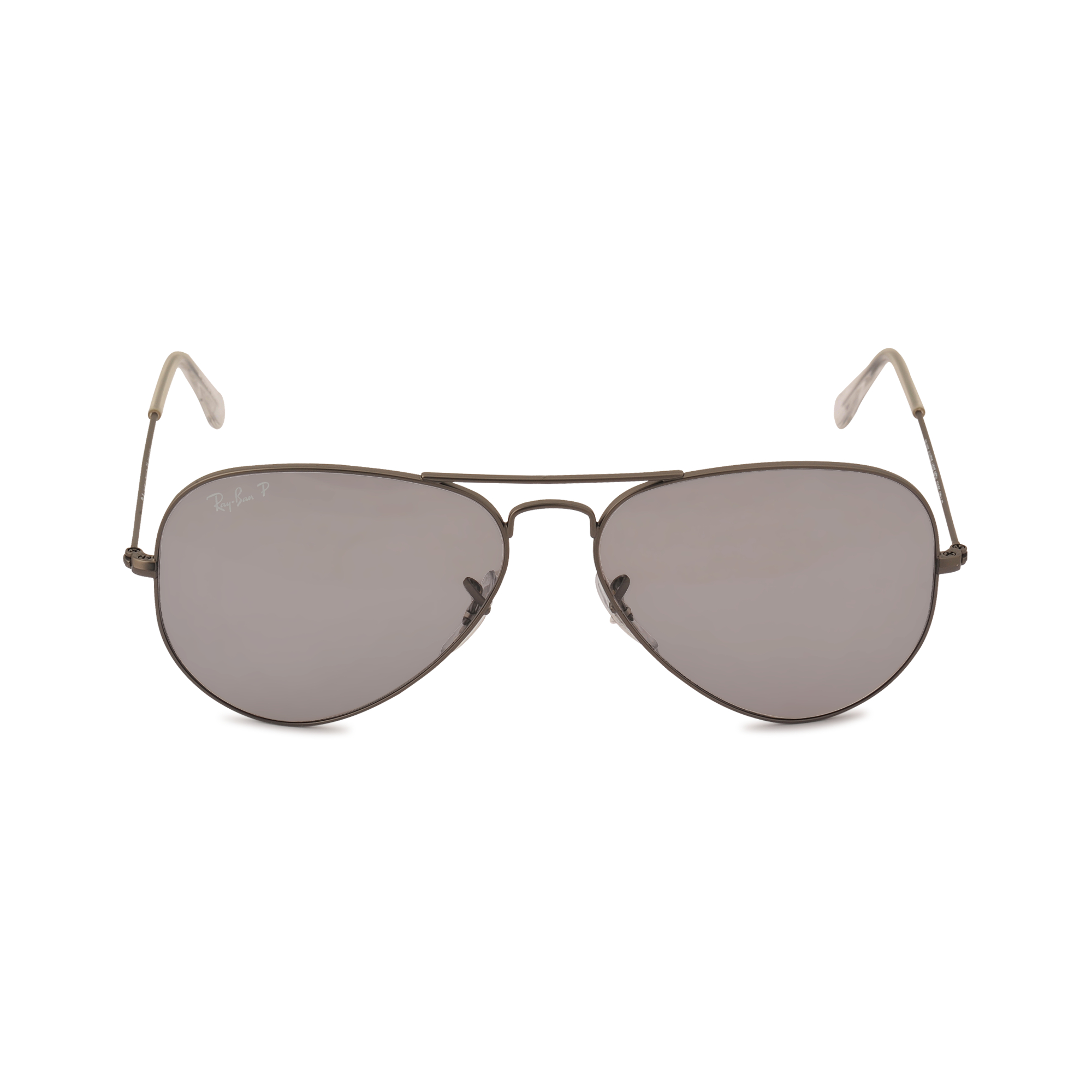 ray ban aviator sunglasses 3025 in gray lyst. Black Bedroom Furniture Sets. Home Design Ideas