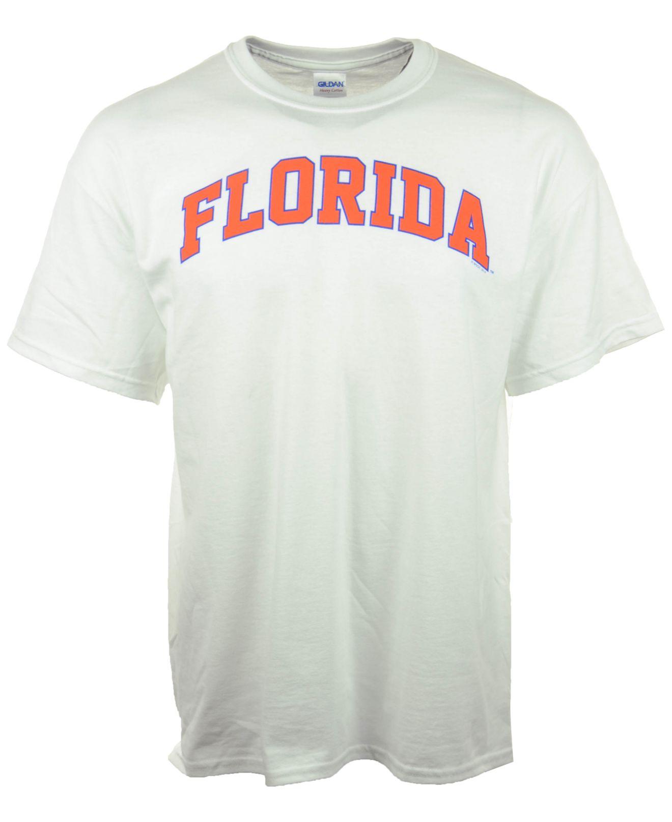 13ed5e41 MYU Apparel Men's Florida Gators Bold Arch T-shirt in White for Men ...