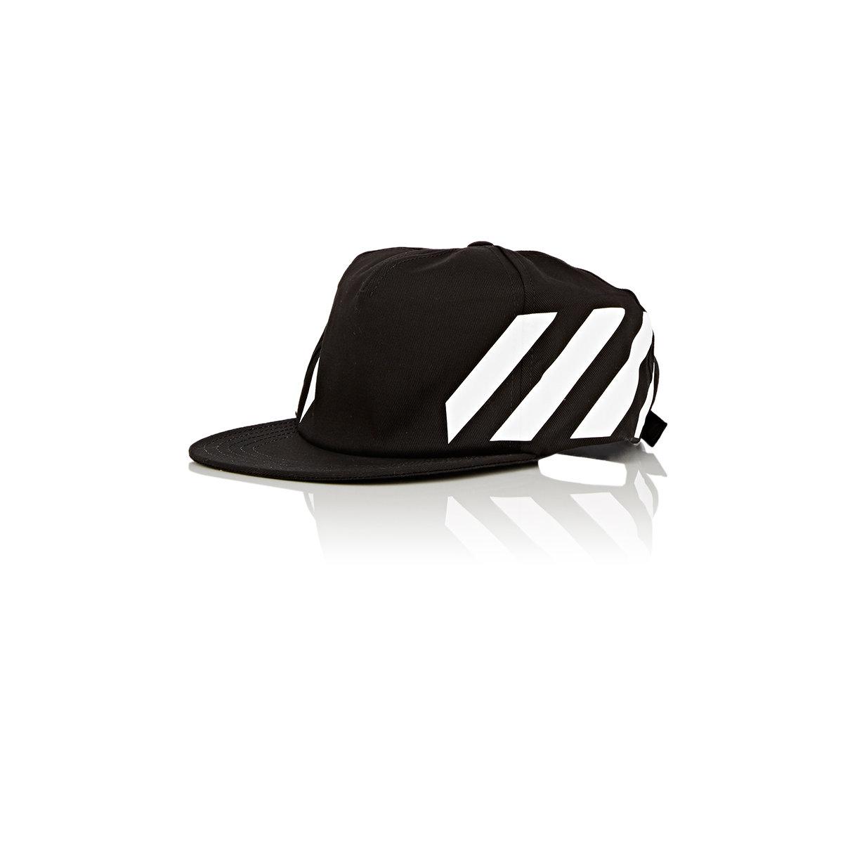 Lyst - Off-white c/o virgil abloh Twill Baseball Cap in Black for Men