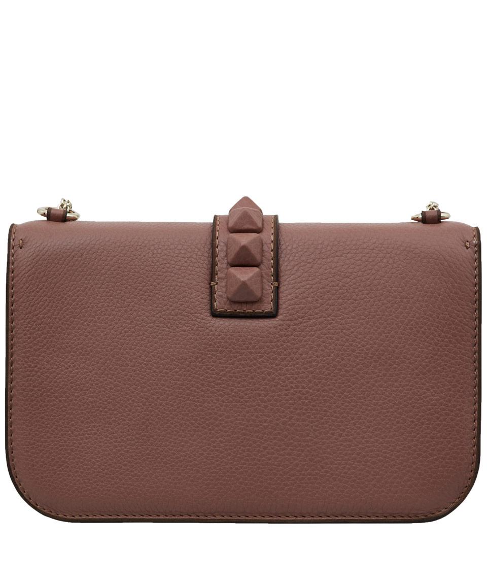 589ef215f458 Valentino Rockstud Crossbody Bag Pink