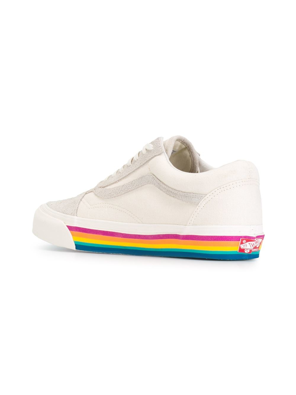 fdd2e64a Vans Lyst Natural Sole Rainbow In Sneakers p4nS8qwC