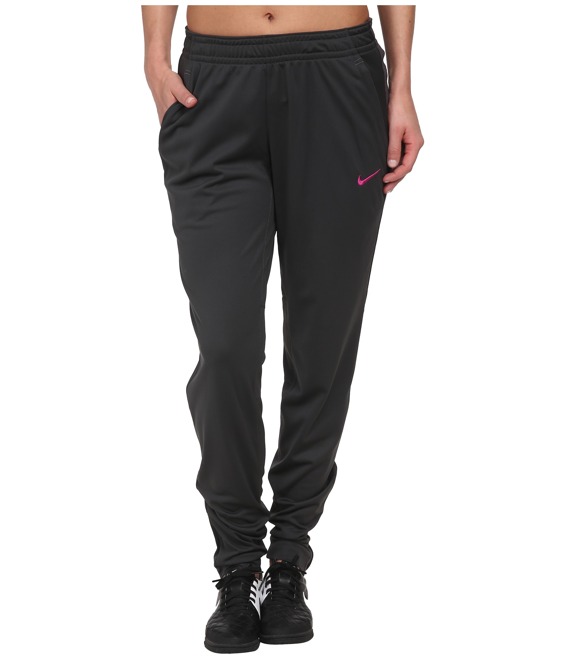 Nike Dri-Fit™ Soccer Knit Pant in Gray | Lyst