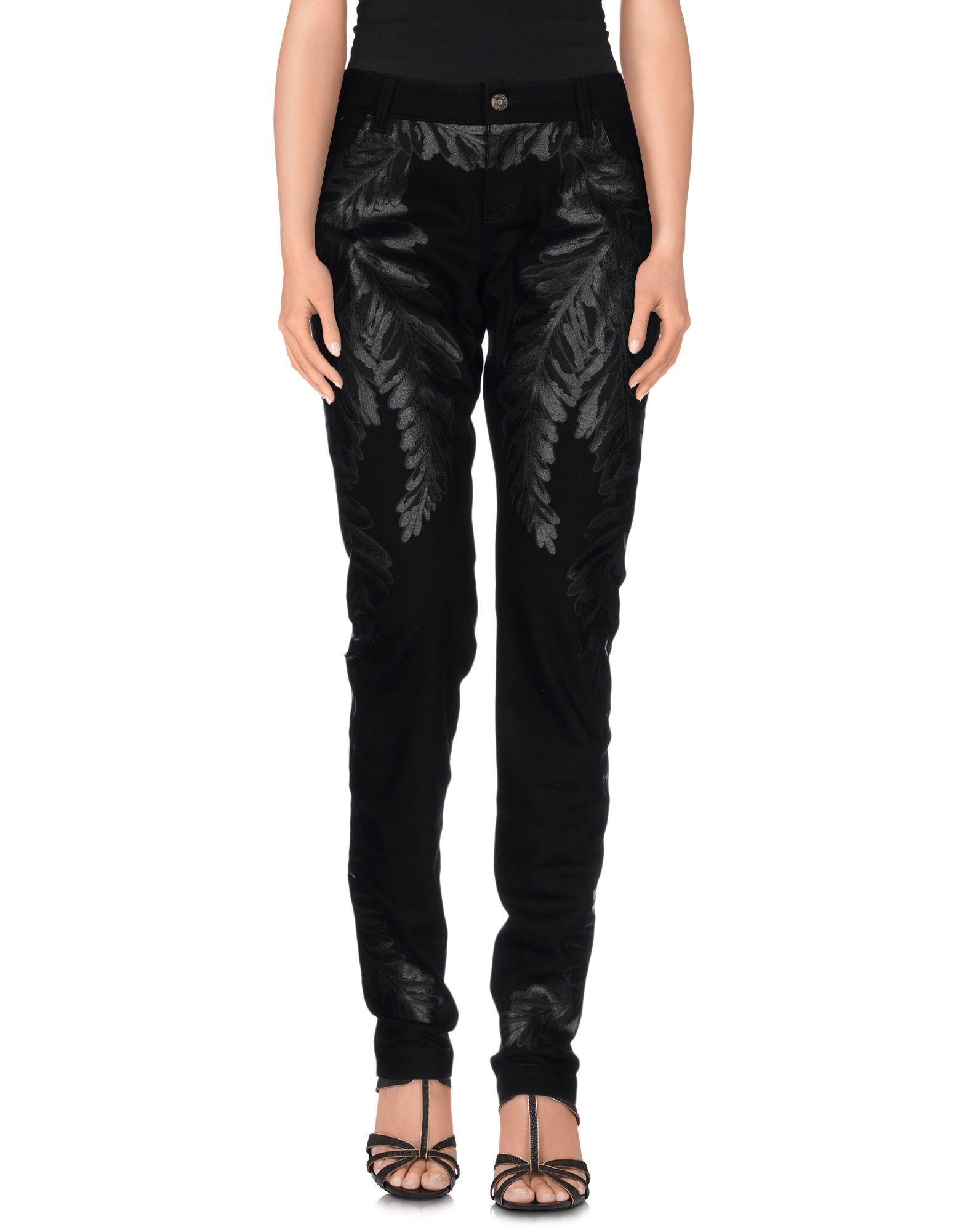 Lyst Gucci Denim Trousers In Black
