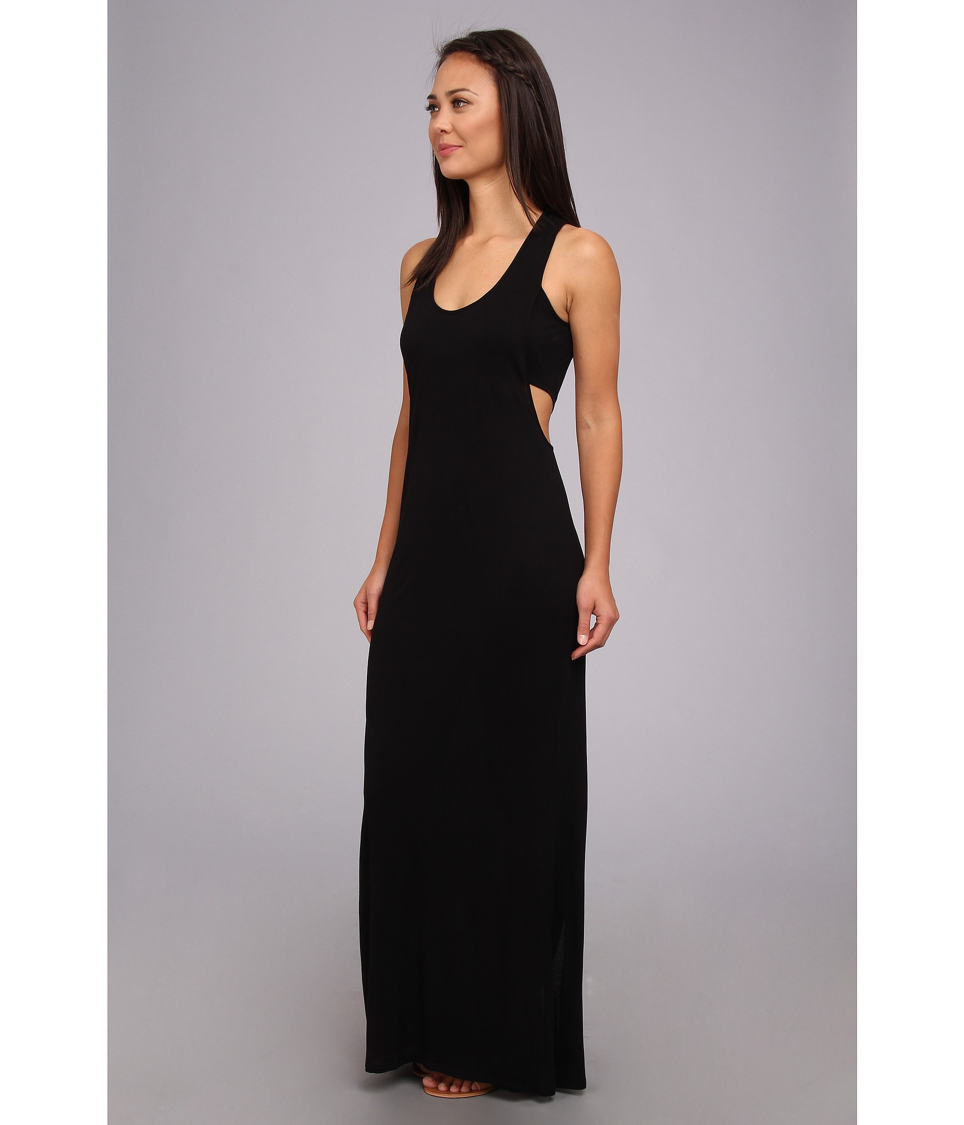 Black black t shirt maxi dress - Bcbgeneration Black T Shirt Maxi Dress