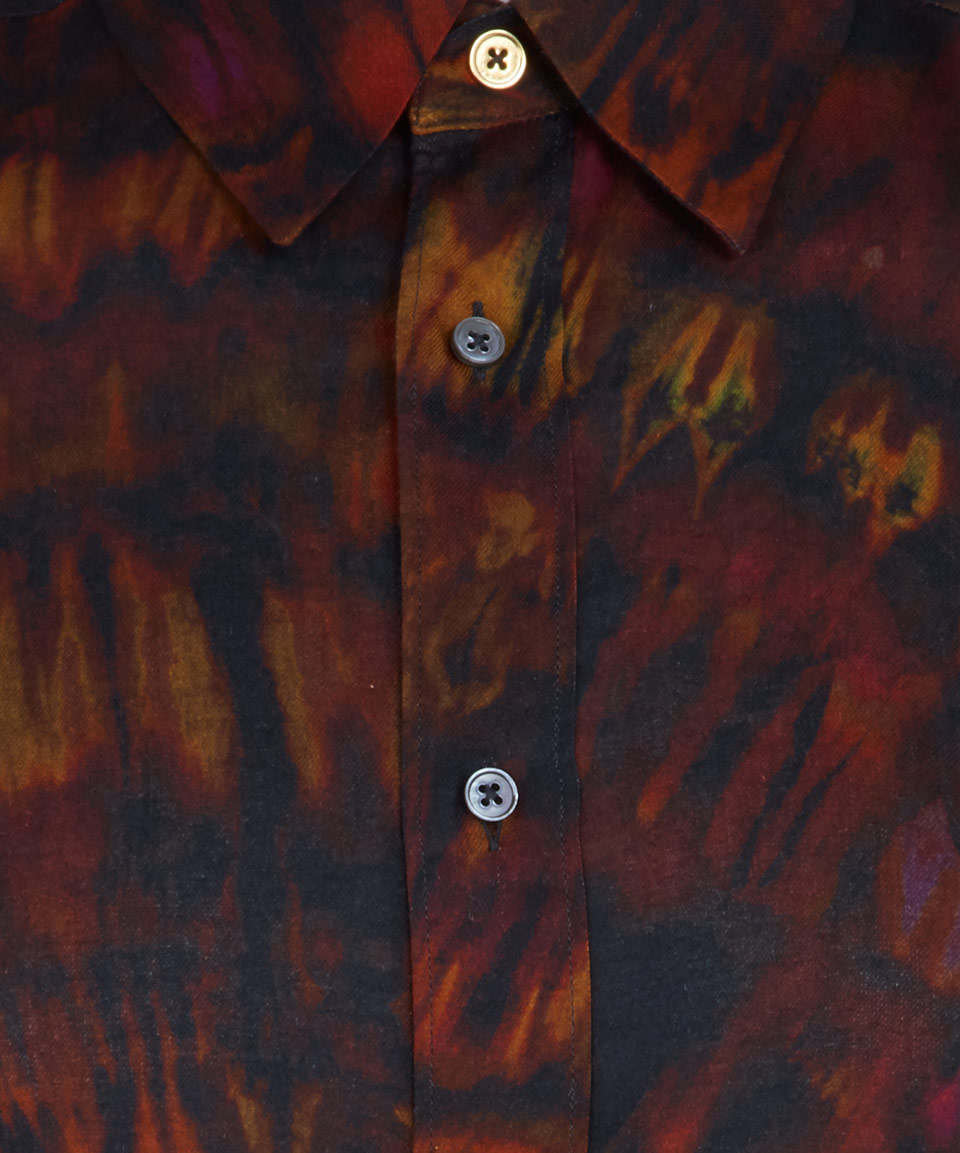 how to make red and black tie dye shirts