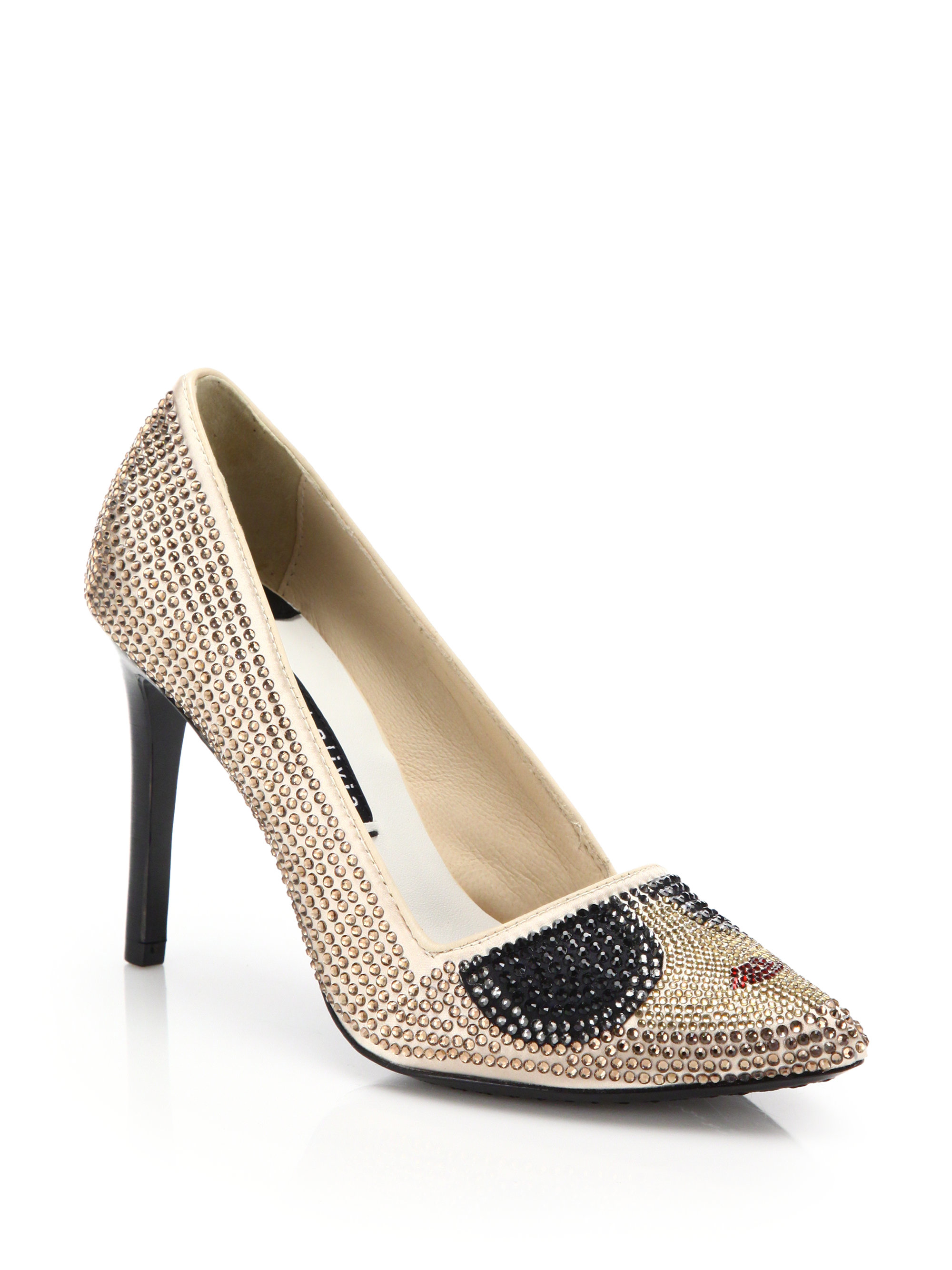 quality free shipping low price Alice + Olivia Embellished Pointed-Toe Pumps fake for sale cheap cheap online 8M8wj