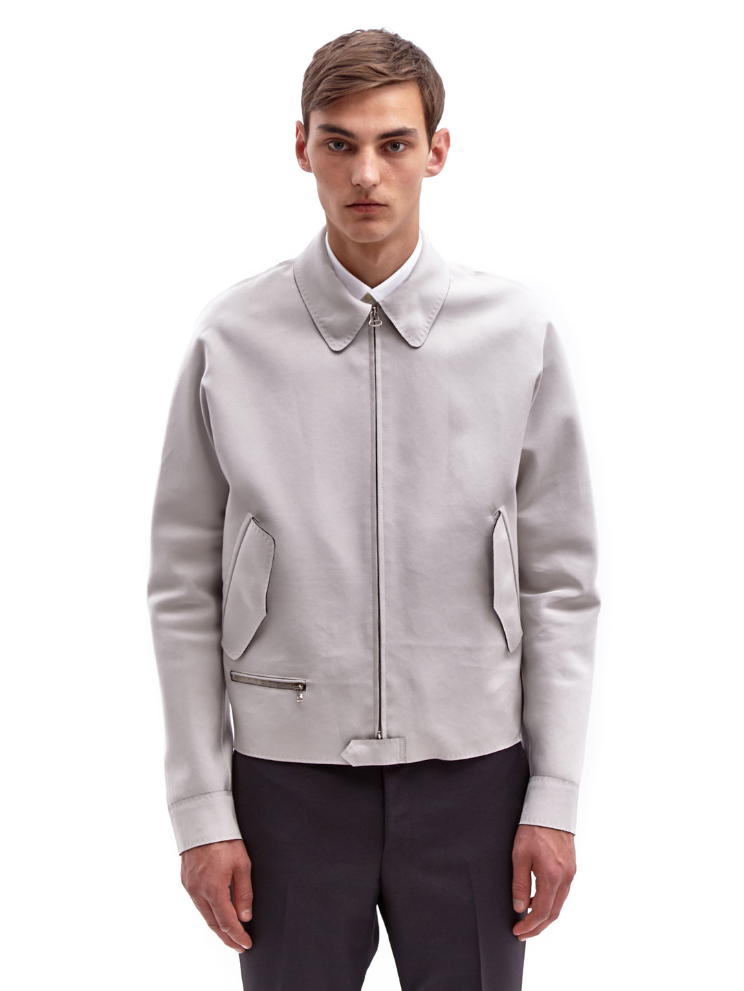 Stylish Men's Bomber Jackets The choice of men's jackets means that you can find a jacket for every occasion. As well as classic blouson jackets, you'll also find military-style and safari-style jackets, zip-up hooded parkas, leather blouson jackets weatherproof sailing jacket.