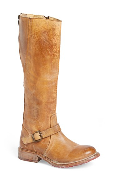 bed stu glaye boot in brown rustic leather lyst