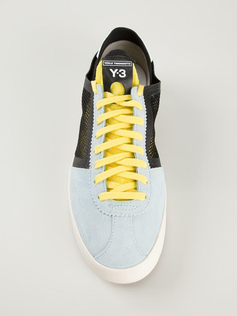 15f48923227c7 Y-3  lazelle  Sneakers in Blue for Men - Lyst