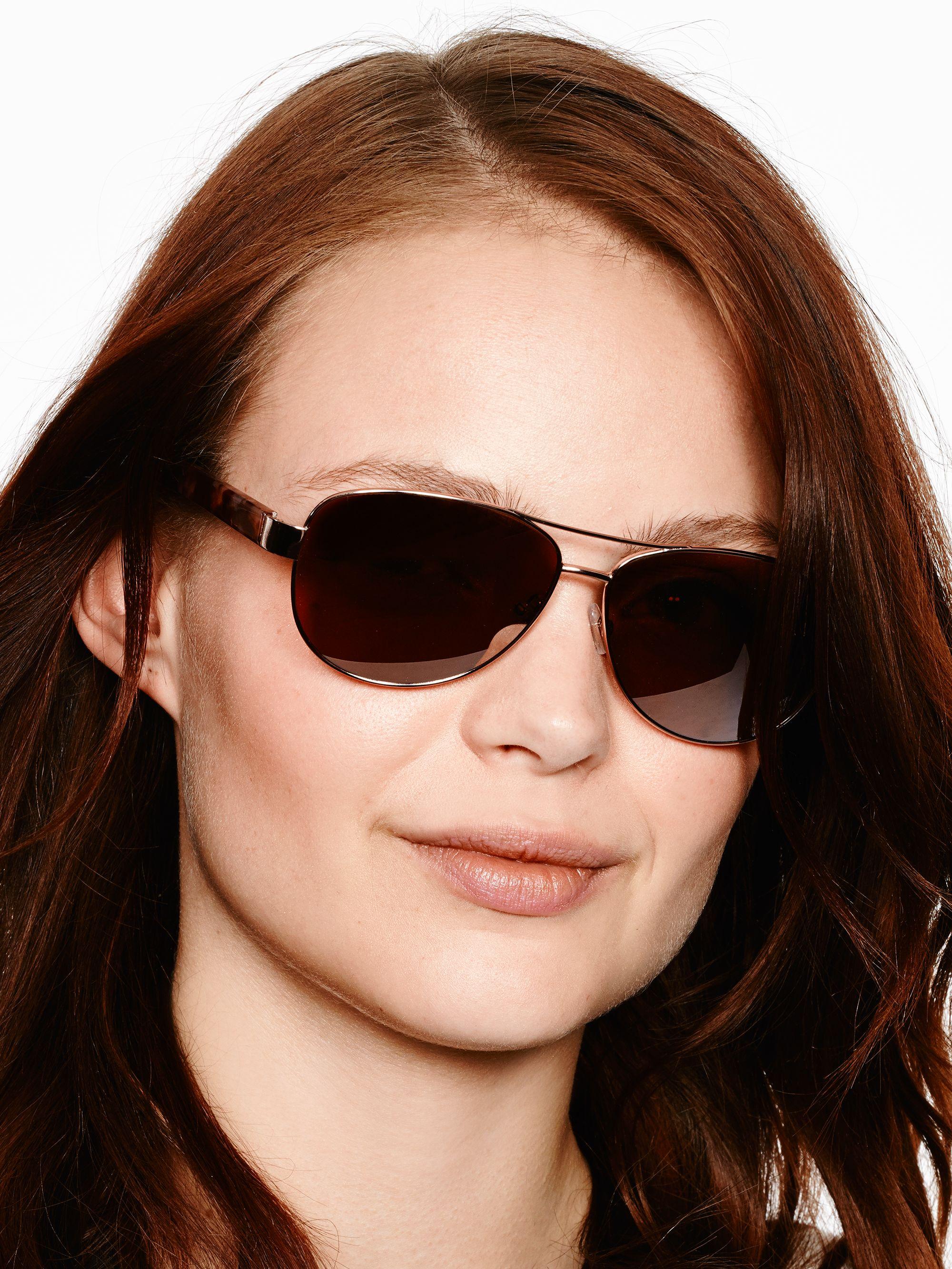 960d7cf2682 Lyst - Kate Spade Dalia Sunglasses in Brown