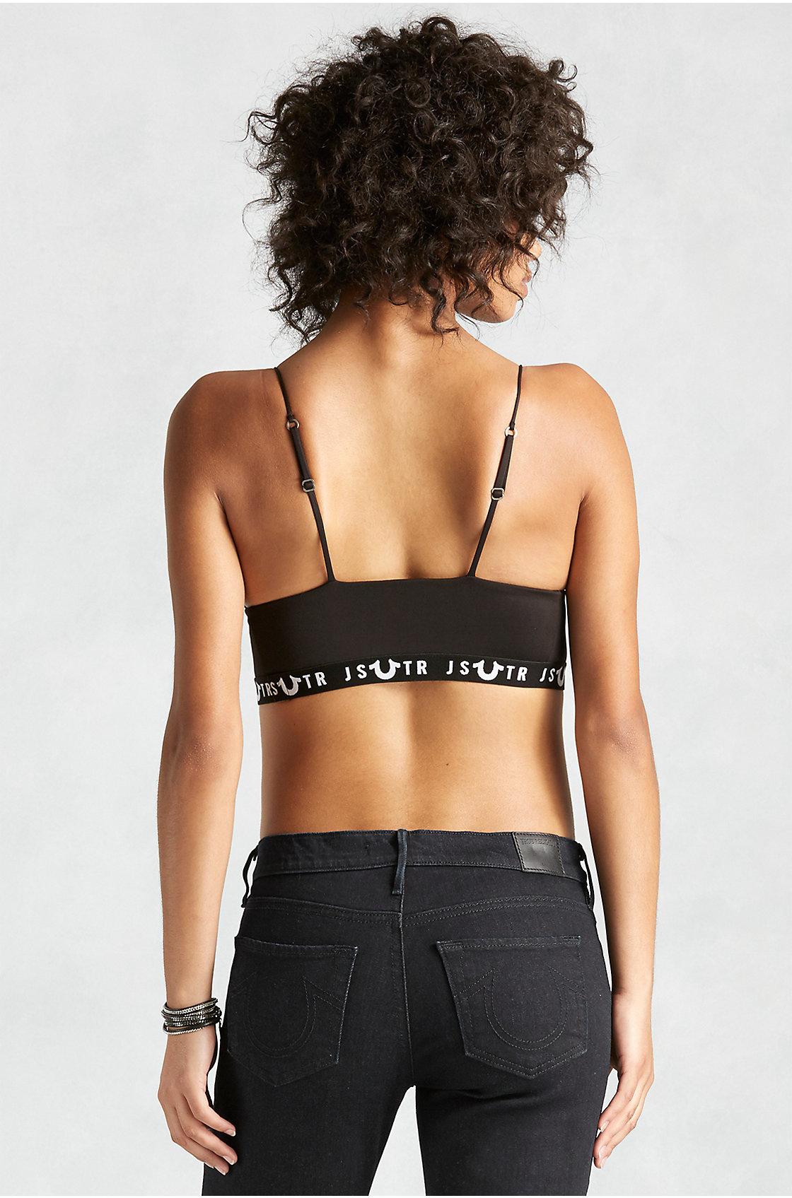 bb4f4b837fa79 Lyst - True Religion Joan Smalls X Undercover Bralette - Black in Black