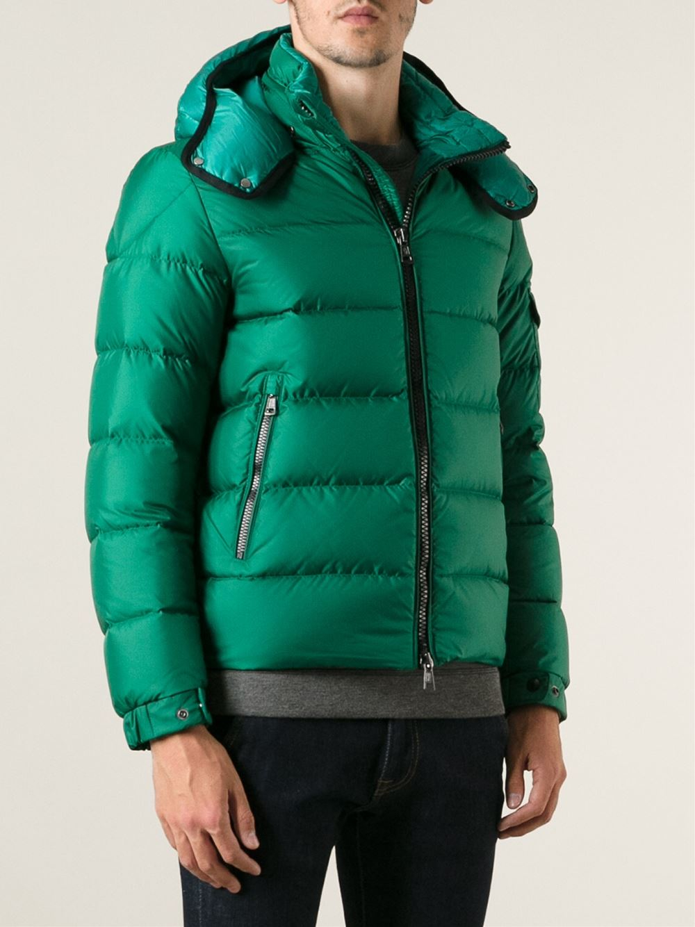 Lyst Moncler Hymalay Padded Jacket In Green For Men