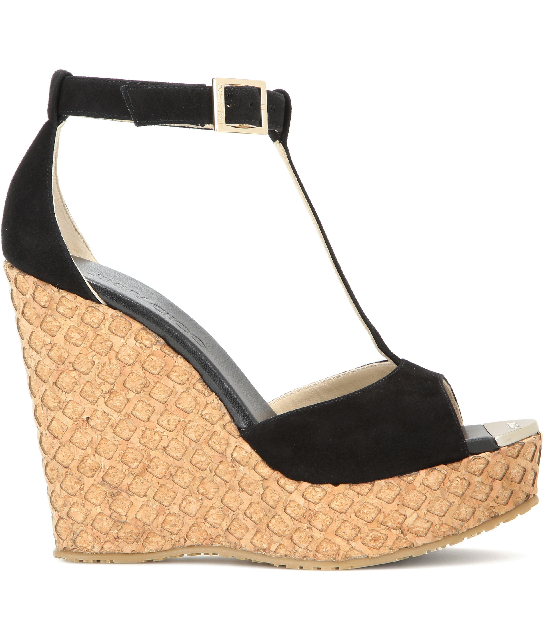 Jimmy Choo Suede Wedge Sandals buy cheap pictures newest outlet enjoy BZRUlKt1