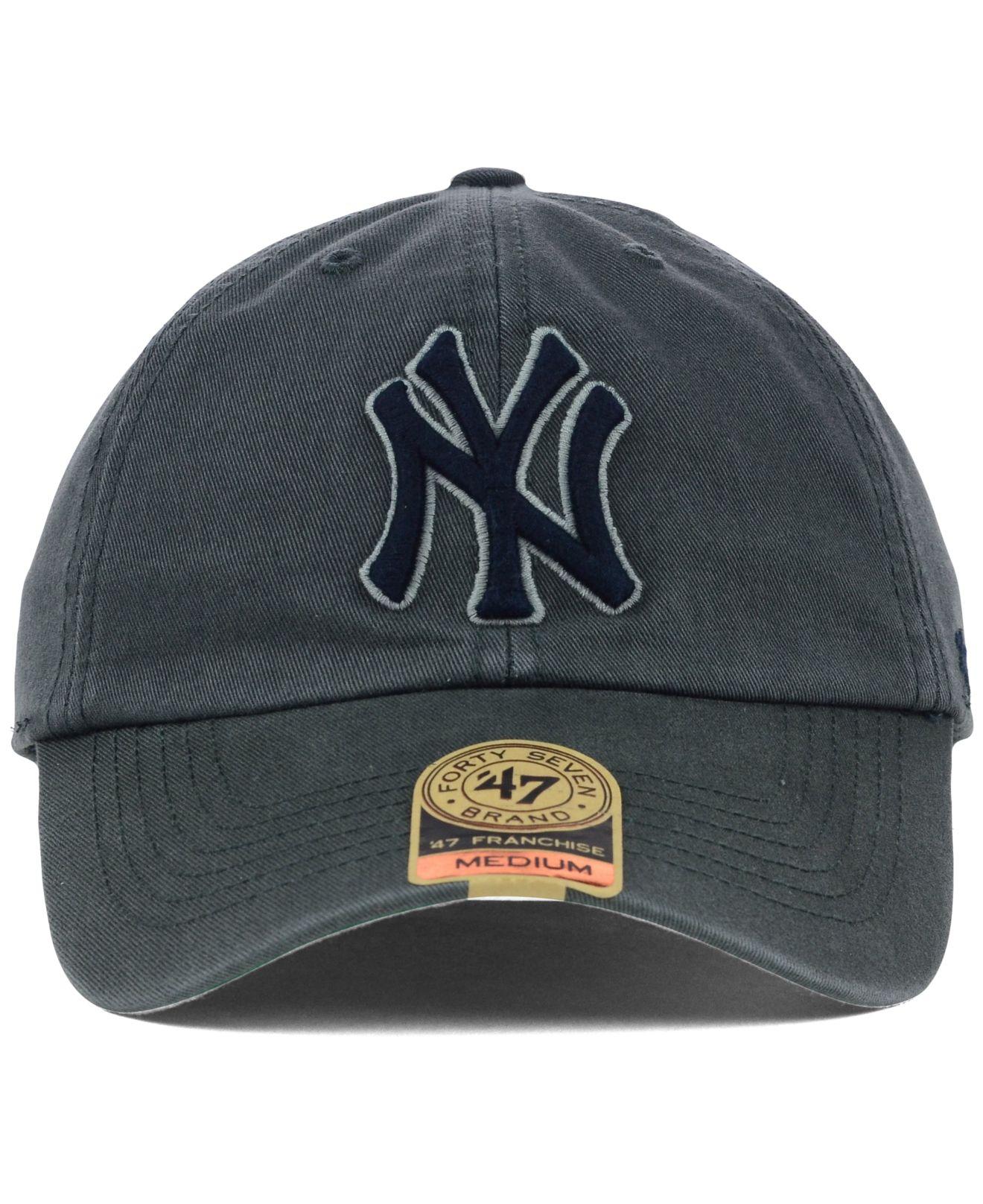 brand new 9c98d 33e5c ... uk macys new york yankees hat amazon 4c5ee 6151c canada new era mens  9forty new york yankees clean a frame trucker cap black white ...