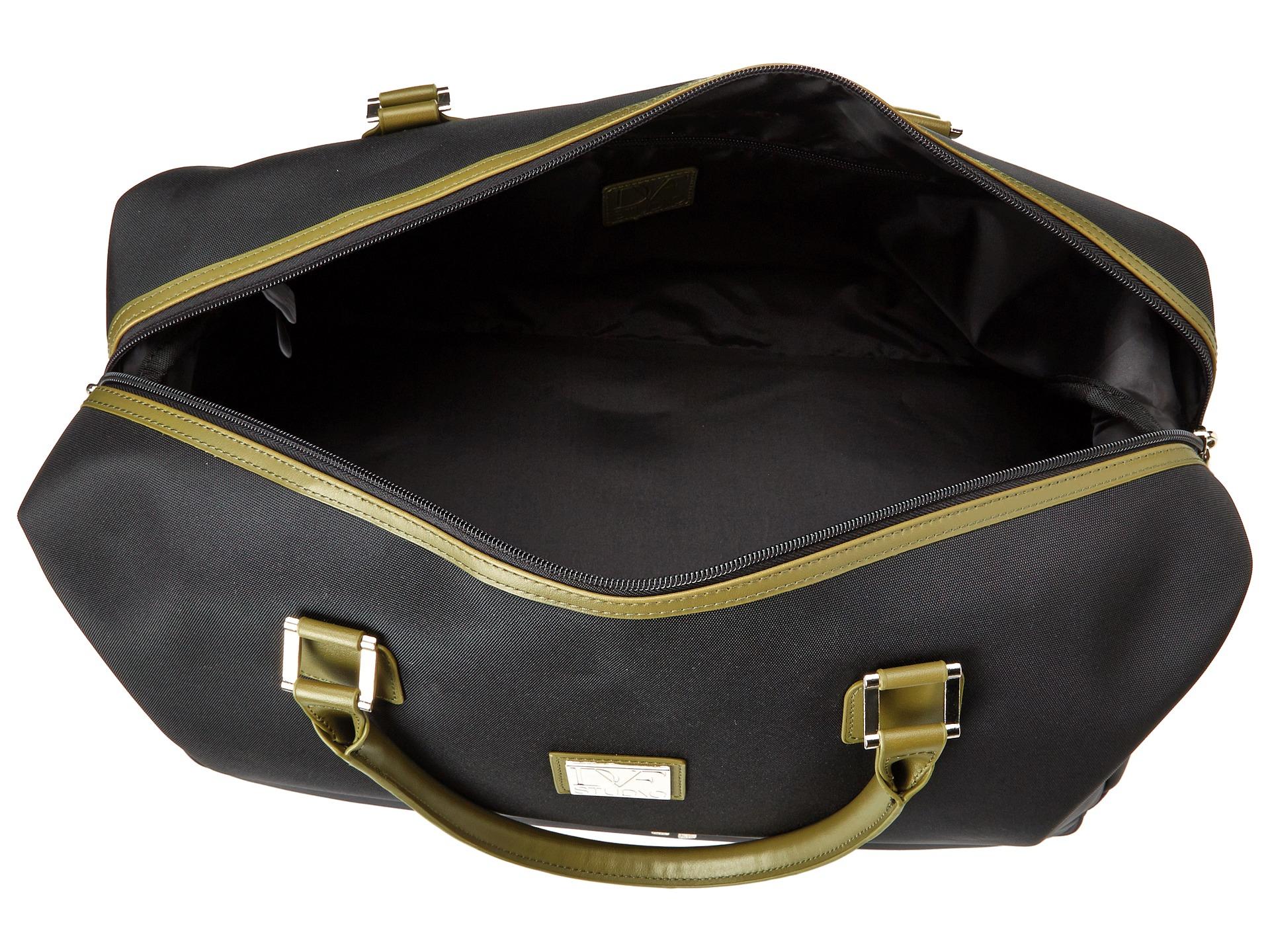 Diane von furstenberg raquel wheeled drop bottom duffel