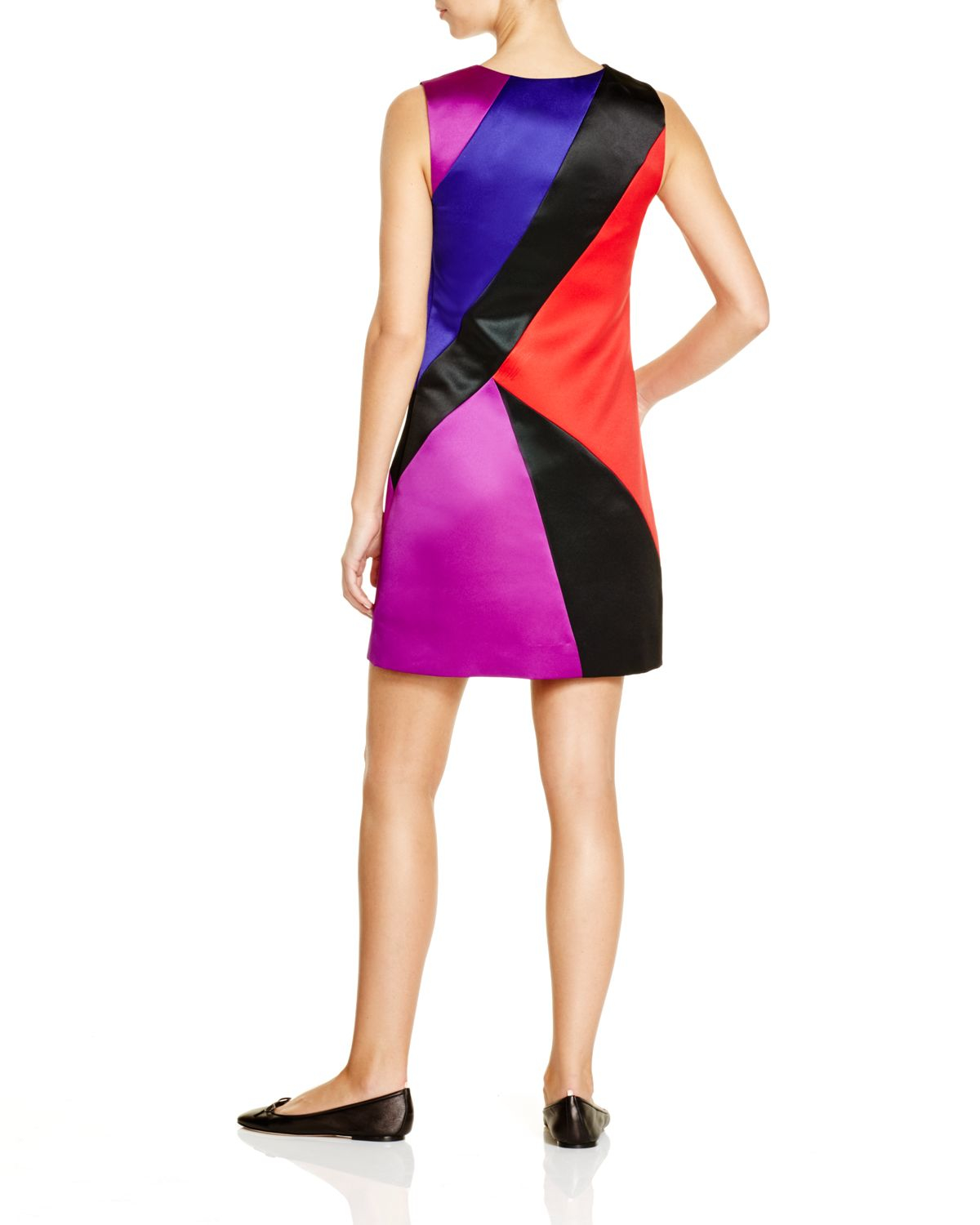 1a34e34b MILLY Color Block Sheath - Bloomingdale's Exclusive - Lyst