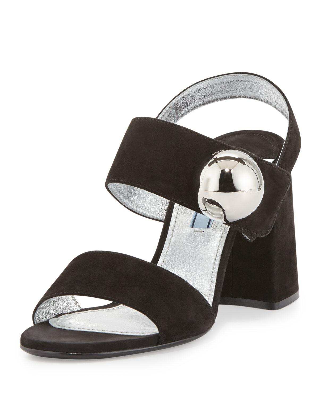 Women S Silver Block Heeled Shoes
