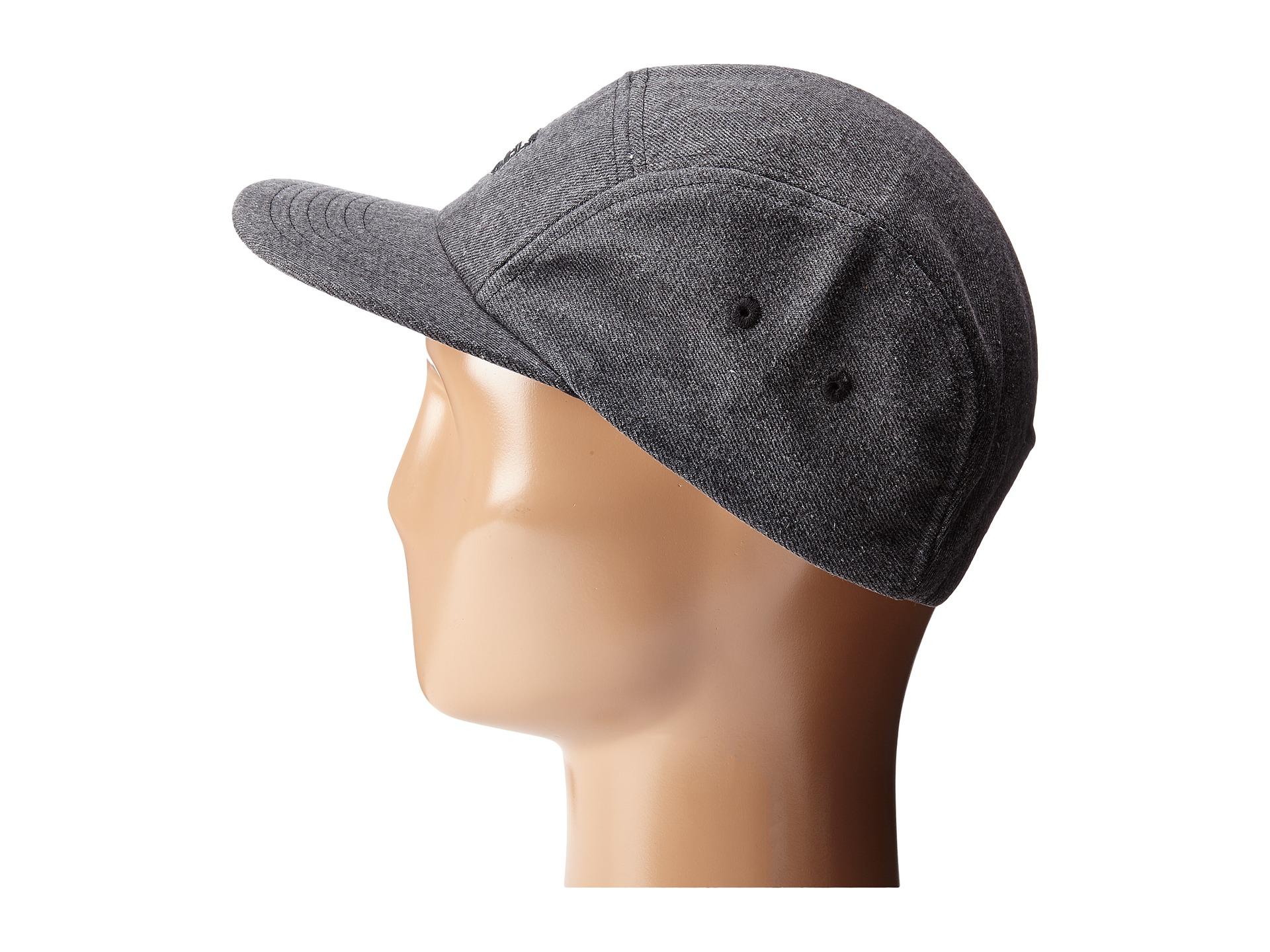 7f909f7399d Lyst - Billabong Melted 5 Panel Hat in Black for Men