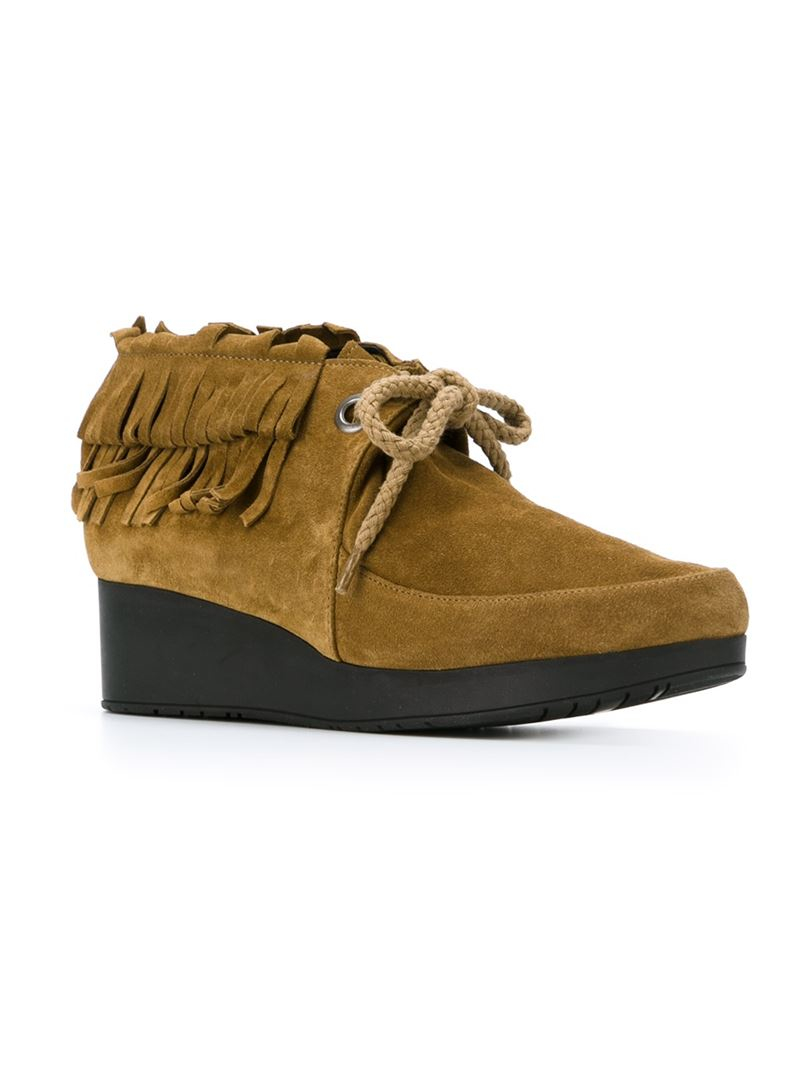 Robert Clergerie Naim Suede Ankle Boots free shipping pictures GA1yNB