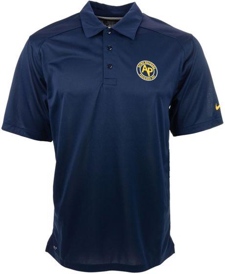 Nike mens green bay packers football coaches polo shirt in for Soccer coach polo shirt