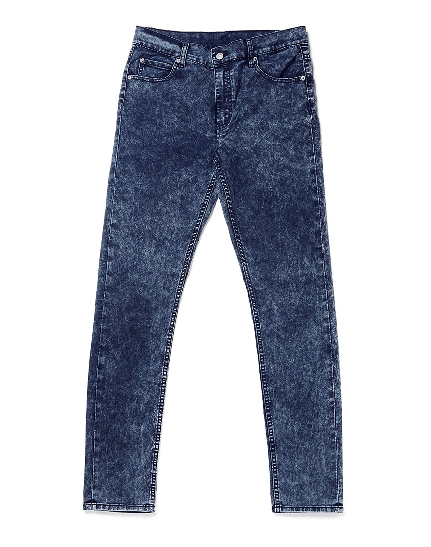 Cheap monday Tight Jeans Blue Blitz In Skinny Fit in Blue for Men ...