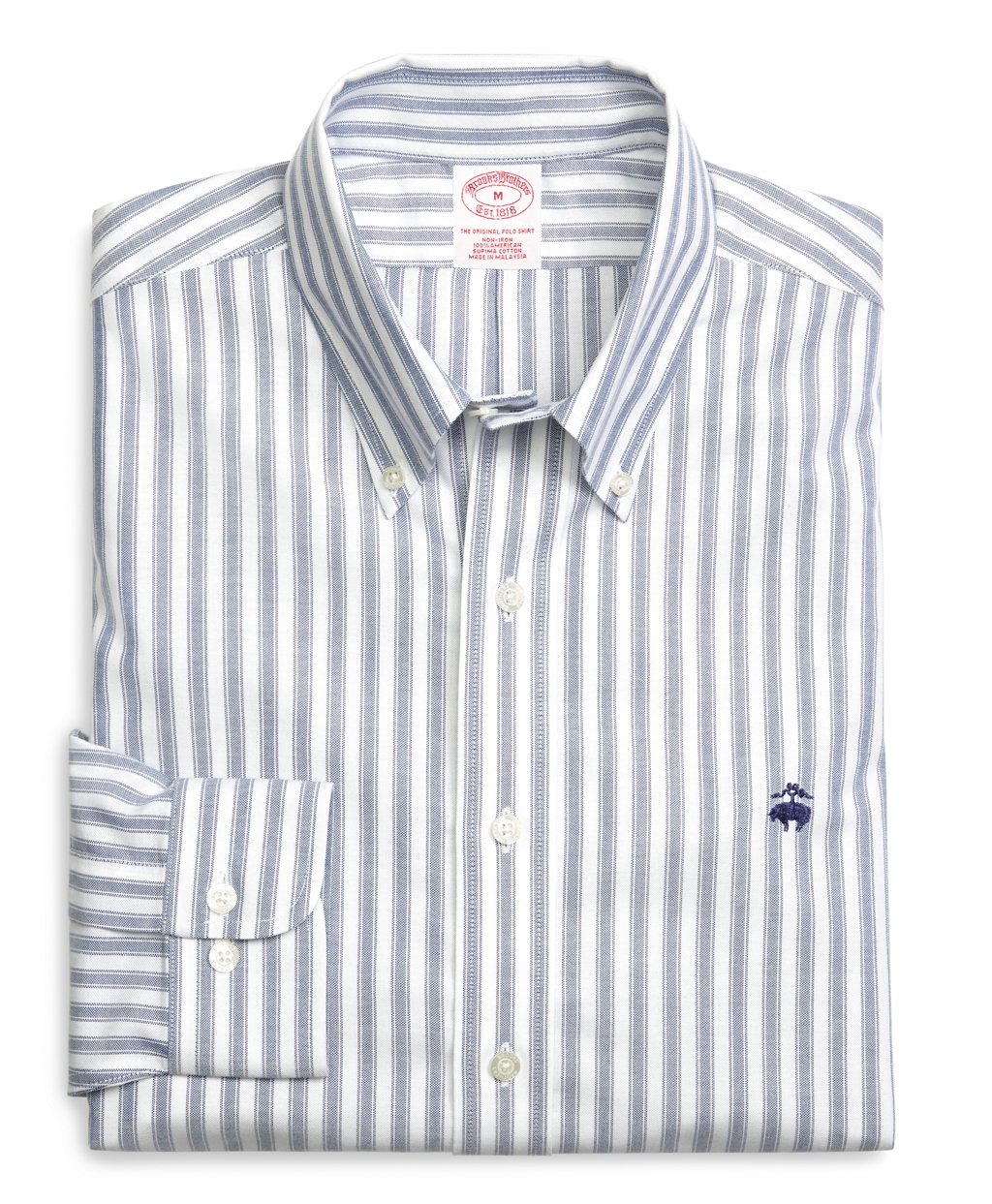 Brooks brothers supima cotton non iron slim fit for Brooks brothers non iron shirts review