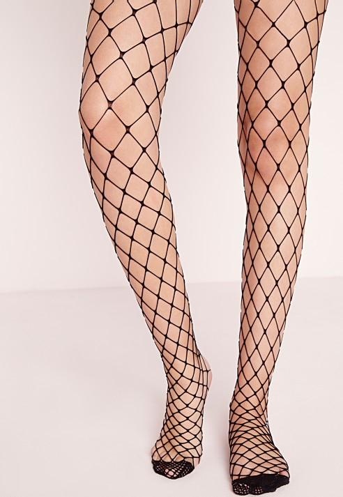 Fishnets black pantyhose