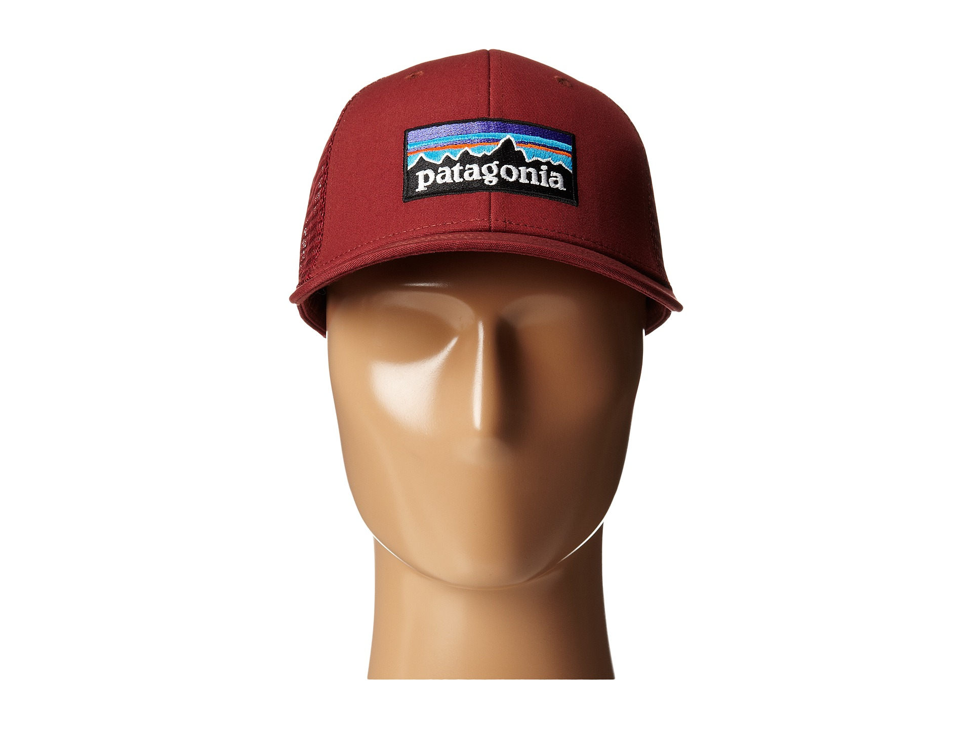 Lyst - Patagonia P6 Trucker Hat in Red for Men 282bdcd9137