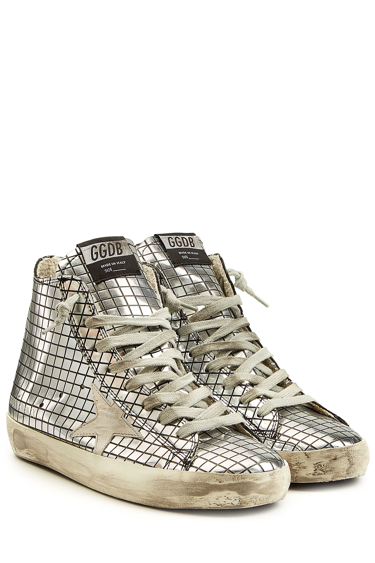Francy high-top sneakers - Metallic Golden Goose 3enU0