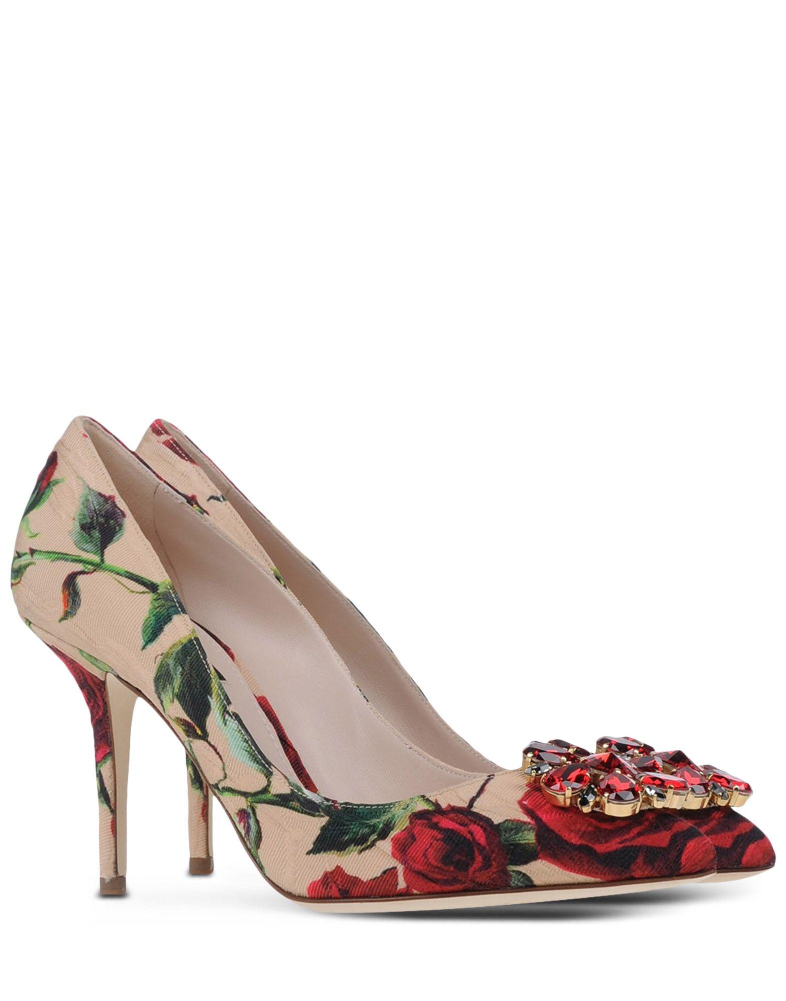 0c17496d6808 Dolce Gabbana Floral Pumps