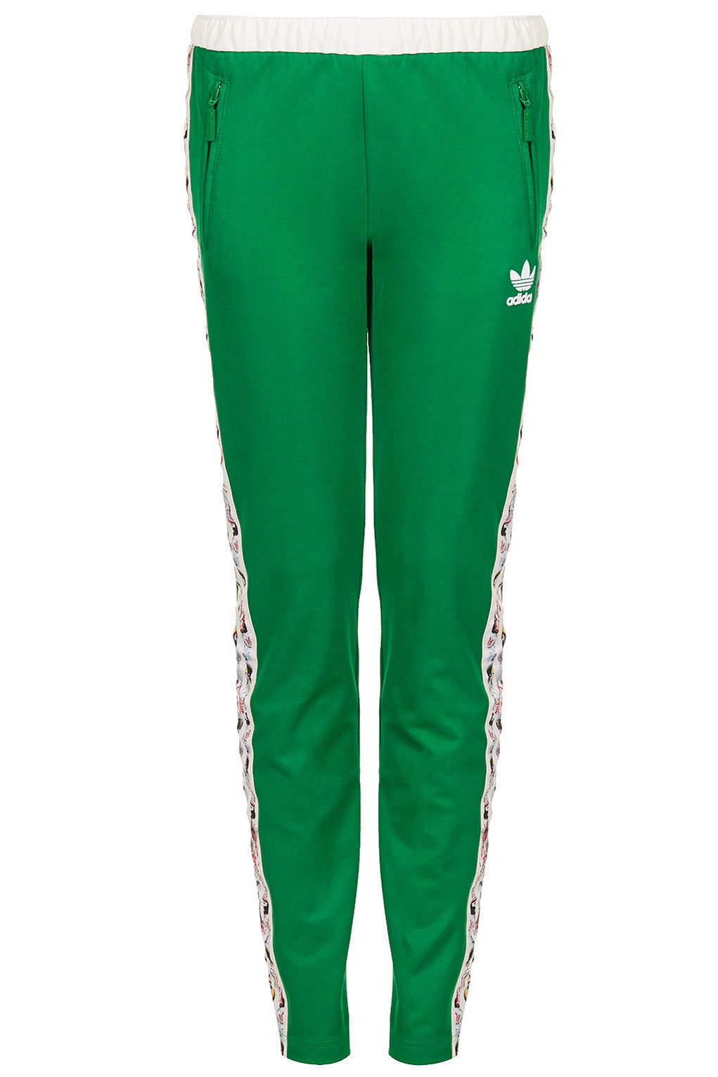 Lyst - TOPSHOP Tracksuit Bottoms By X Adidas Originals in Green ea37df7a2f