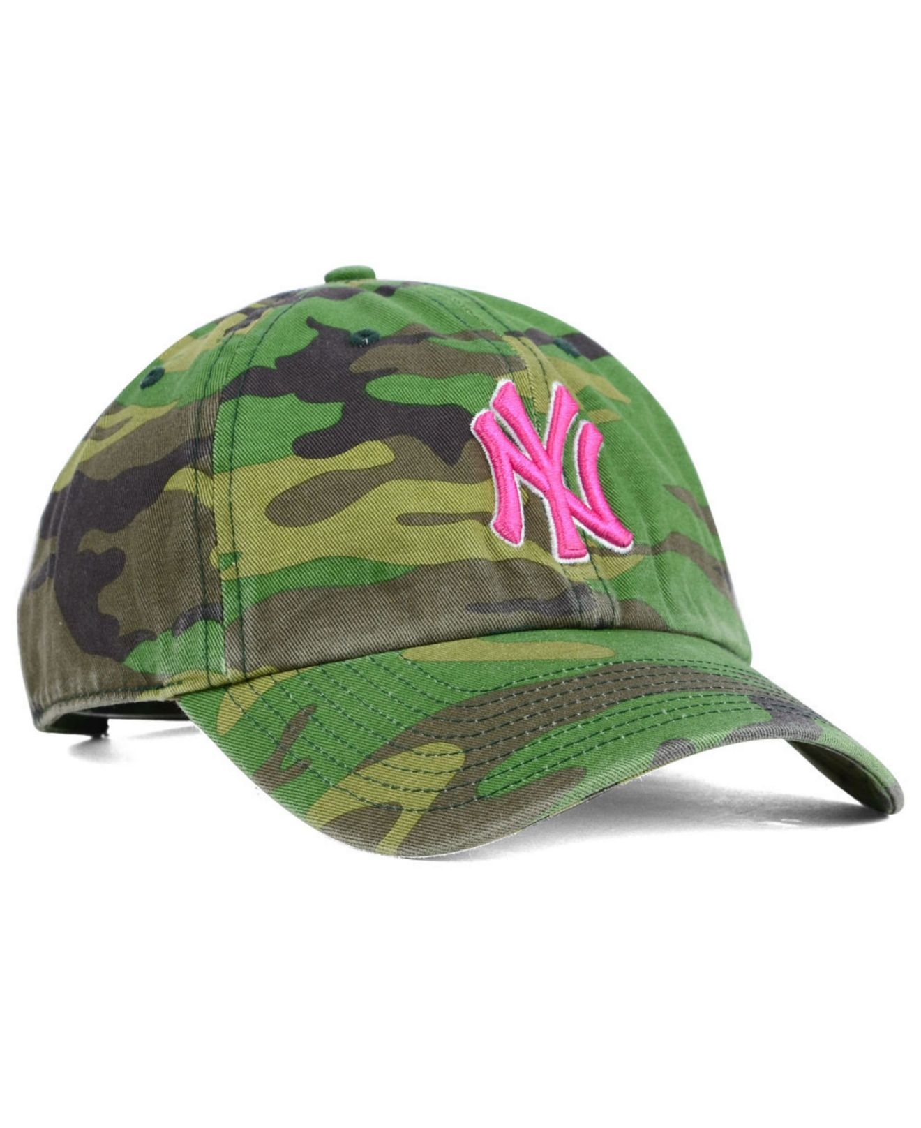 0be5c0bc50a5ee 47 Brand Women's New York Yankees Clean Up Cap in Green - Lyst