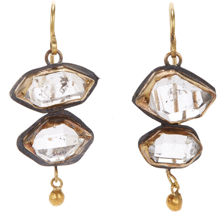 Womens Wild Tangled Double-Drop Earrings Judy Geib GH6CL