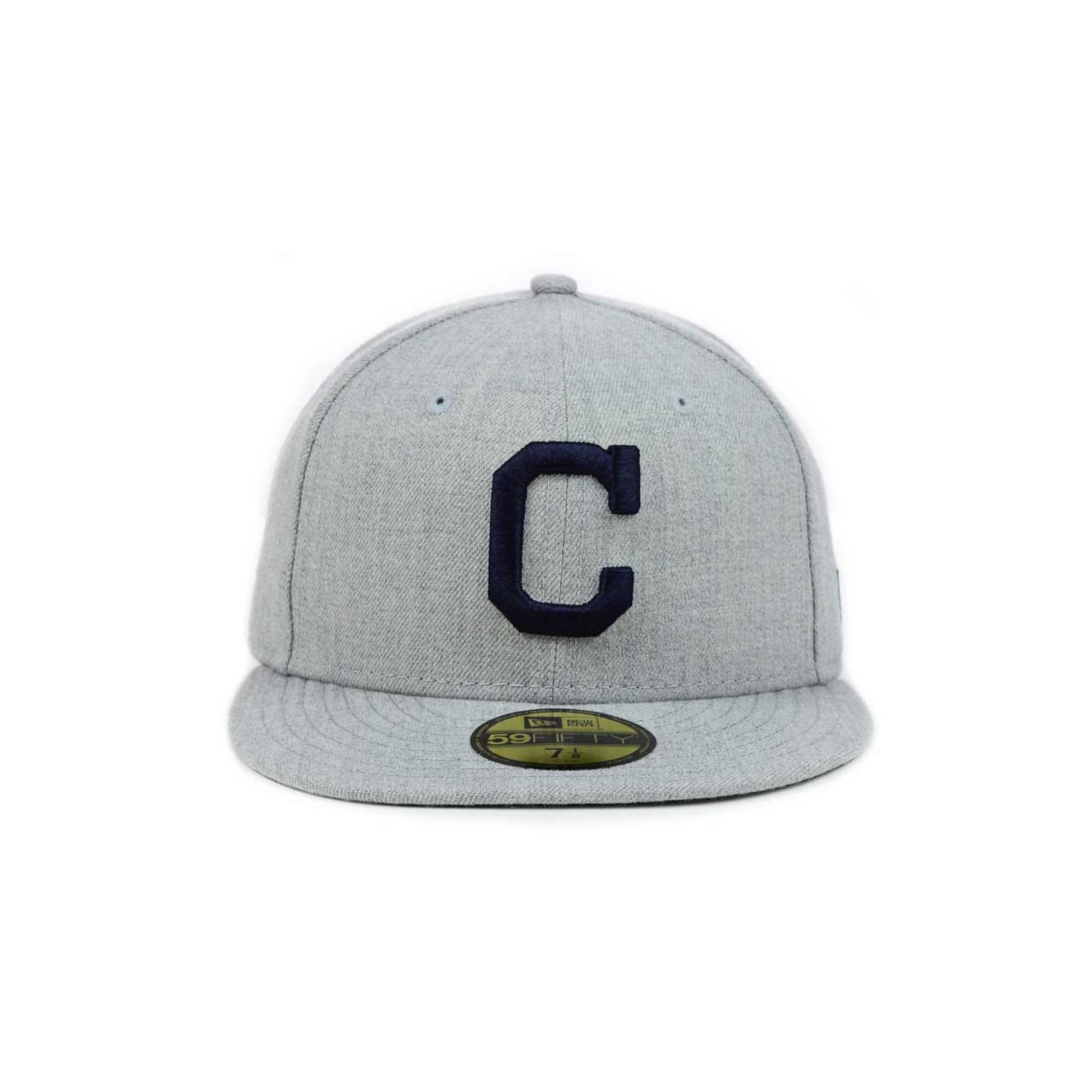 f8038fca134782 ... new zealand lyst ktz cleveland indians mlb heather basic 59fifty cap in  gray 6cbe1 48259
