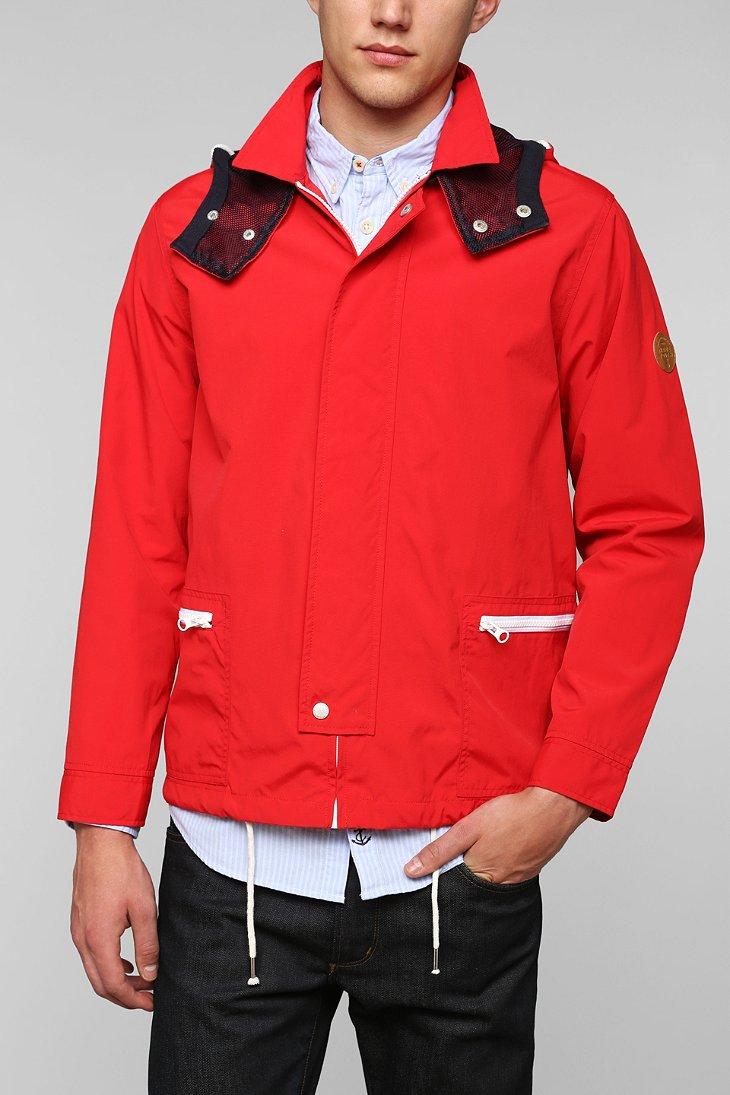 Native youth Tech Windbreaker Jacket in Red for Men   Lyst