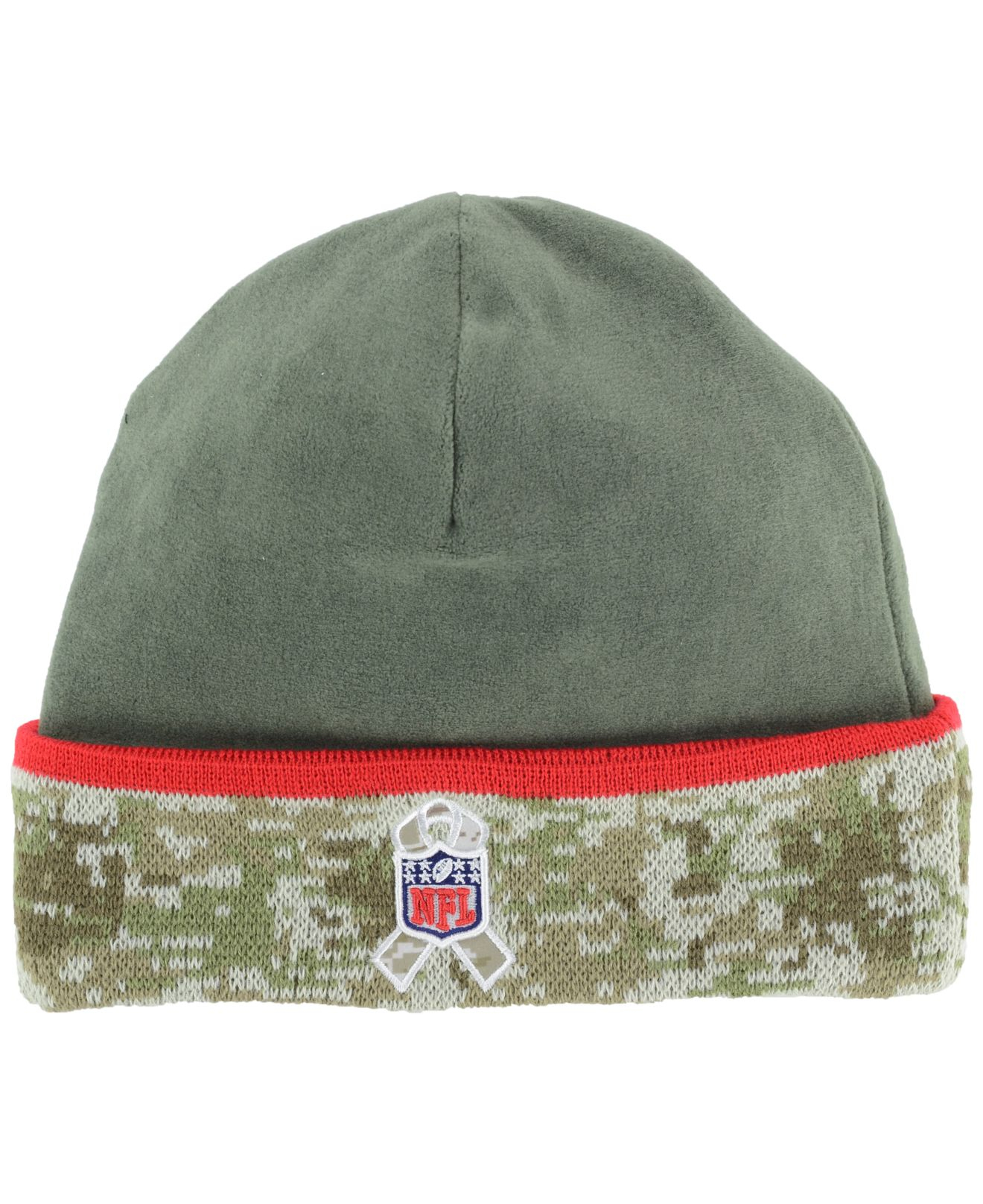 Lyst - Ktz Tampa Bay Buccaneers Salute To Service Knit Hat in Green ... 5d939a5f232