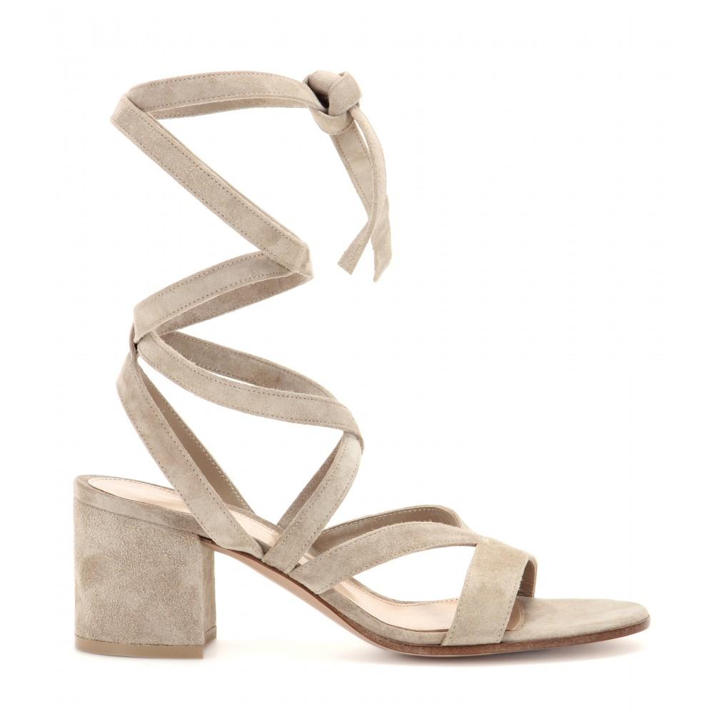 Gianvito Rossi High heel sandals Janis suede UL0HER12Mi